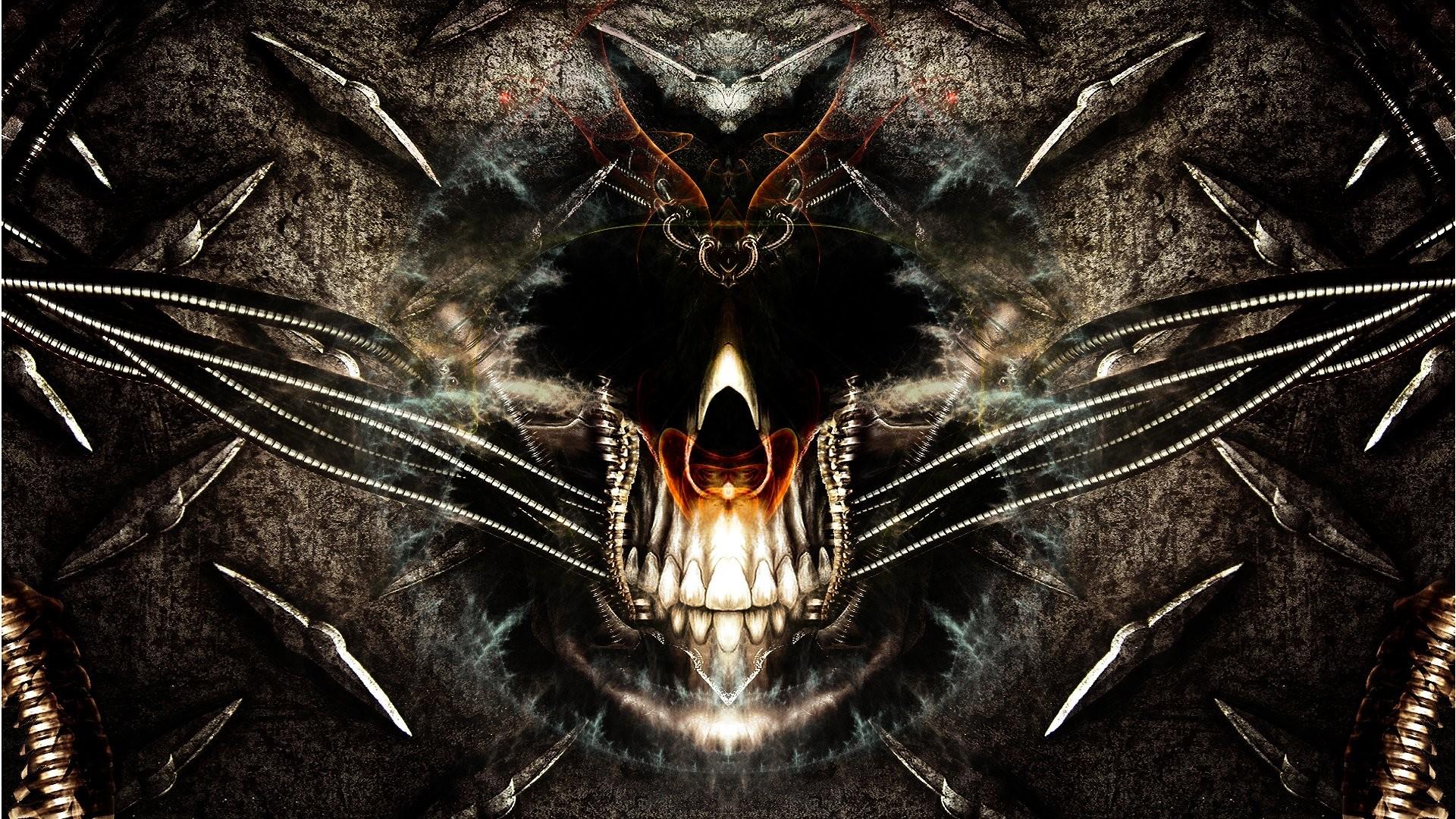 Techno Skull 585079