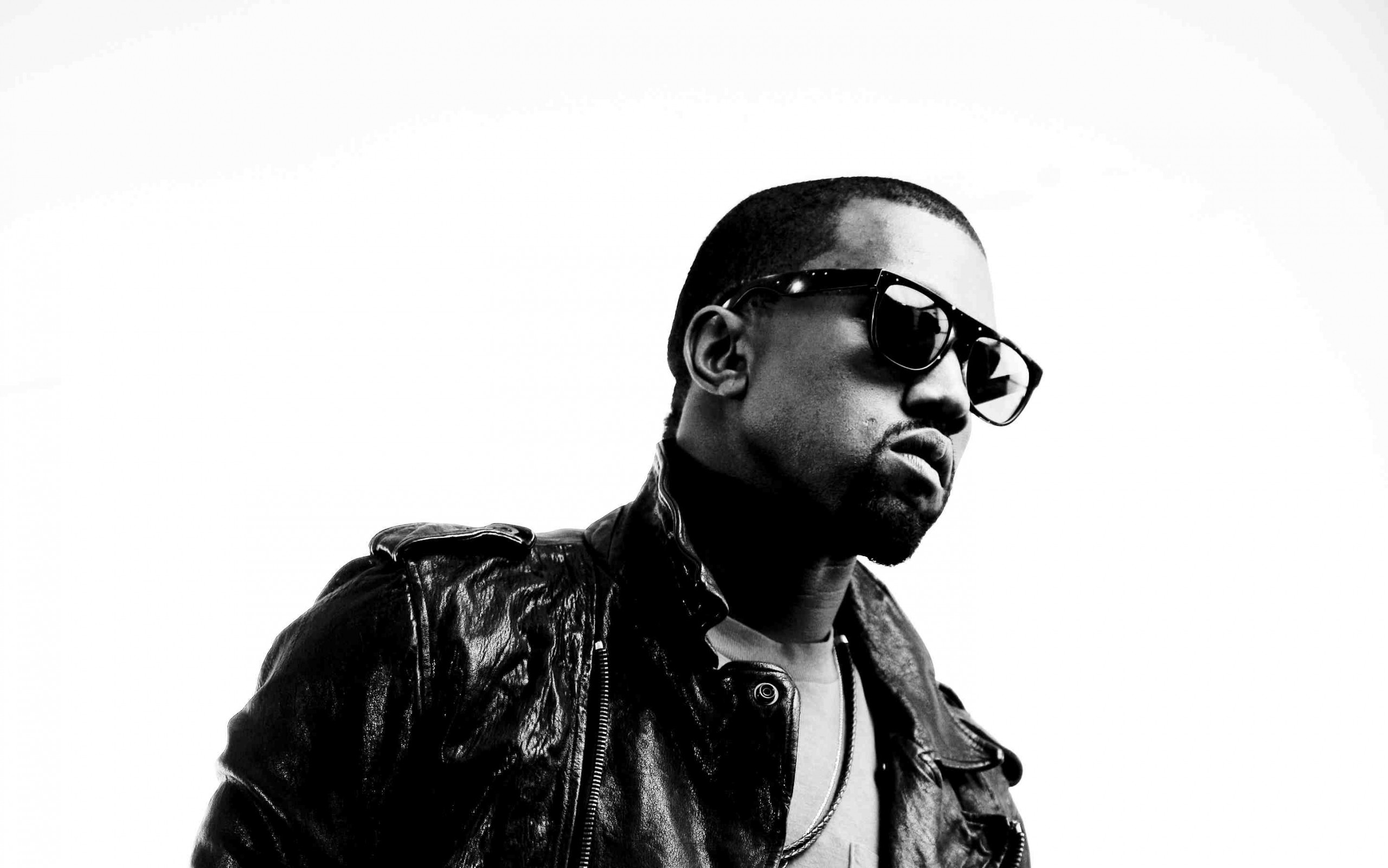 black and white kanye west wallpaper
