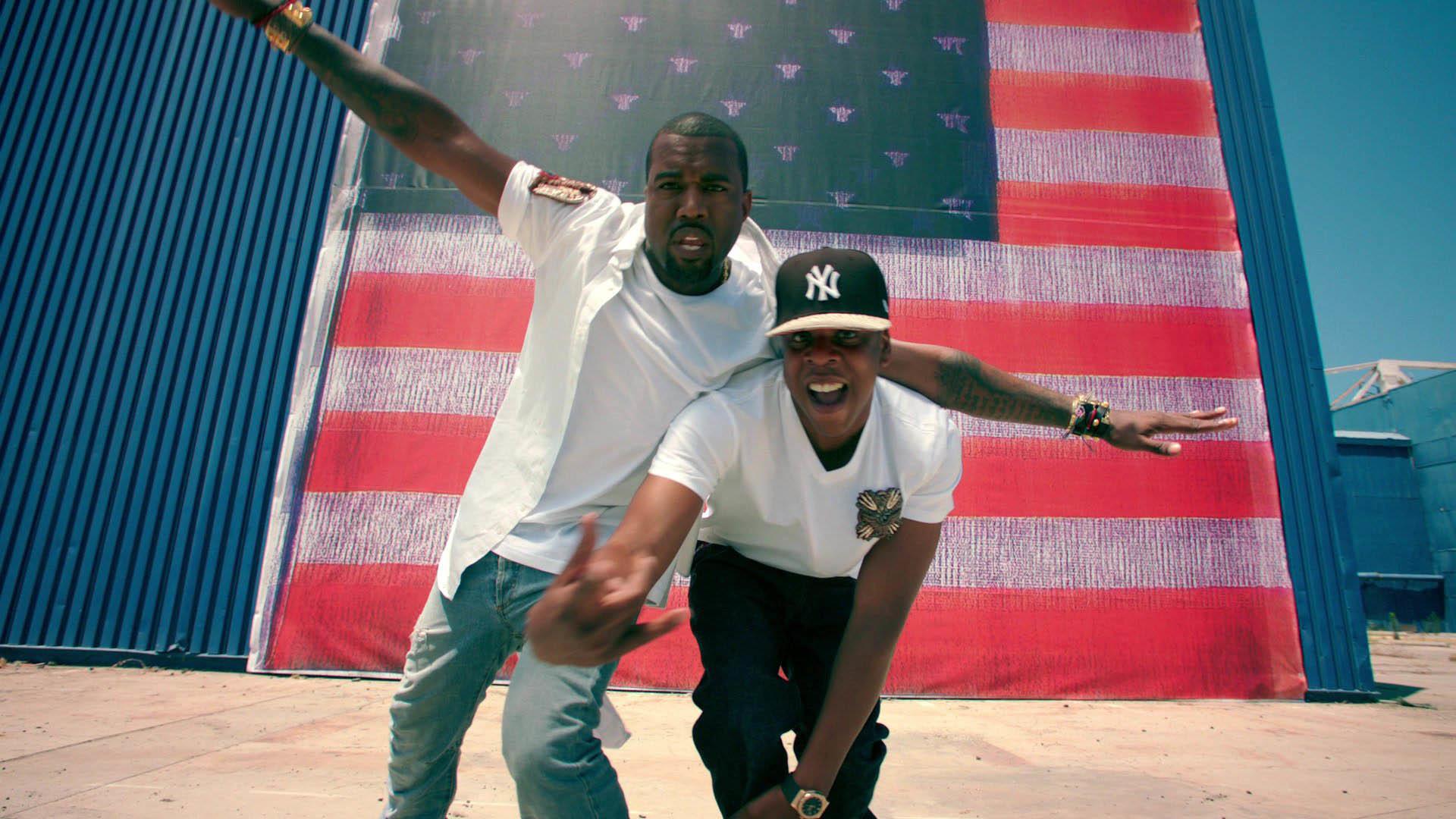Jay Z & Kanye West – Otis wallpaper