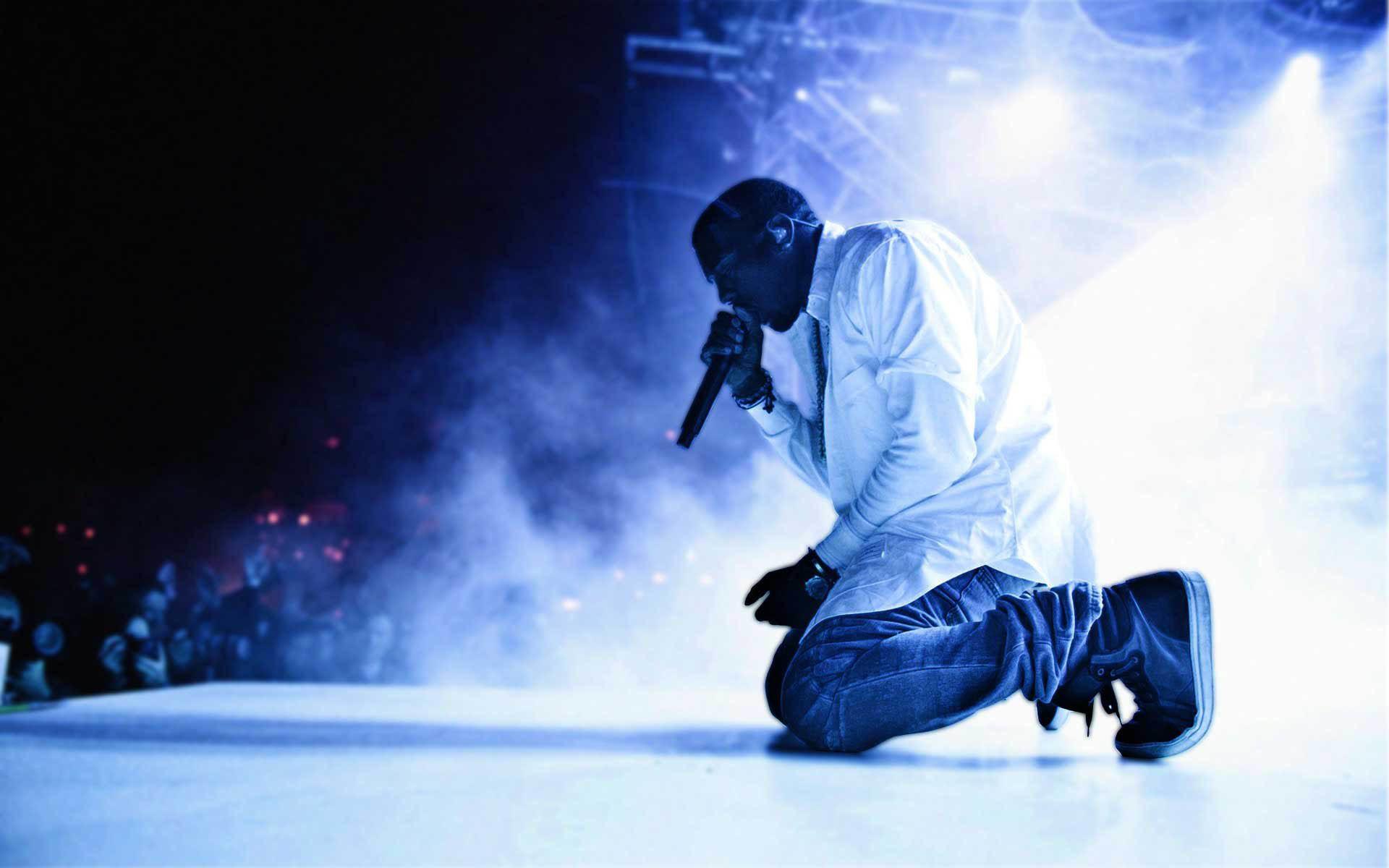 Kanye West Live Performance wallpaper