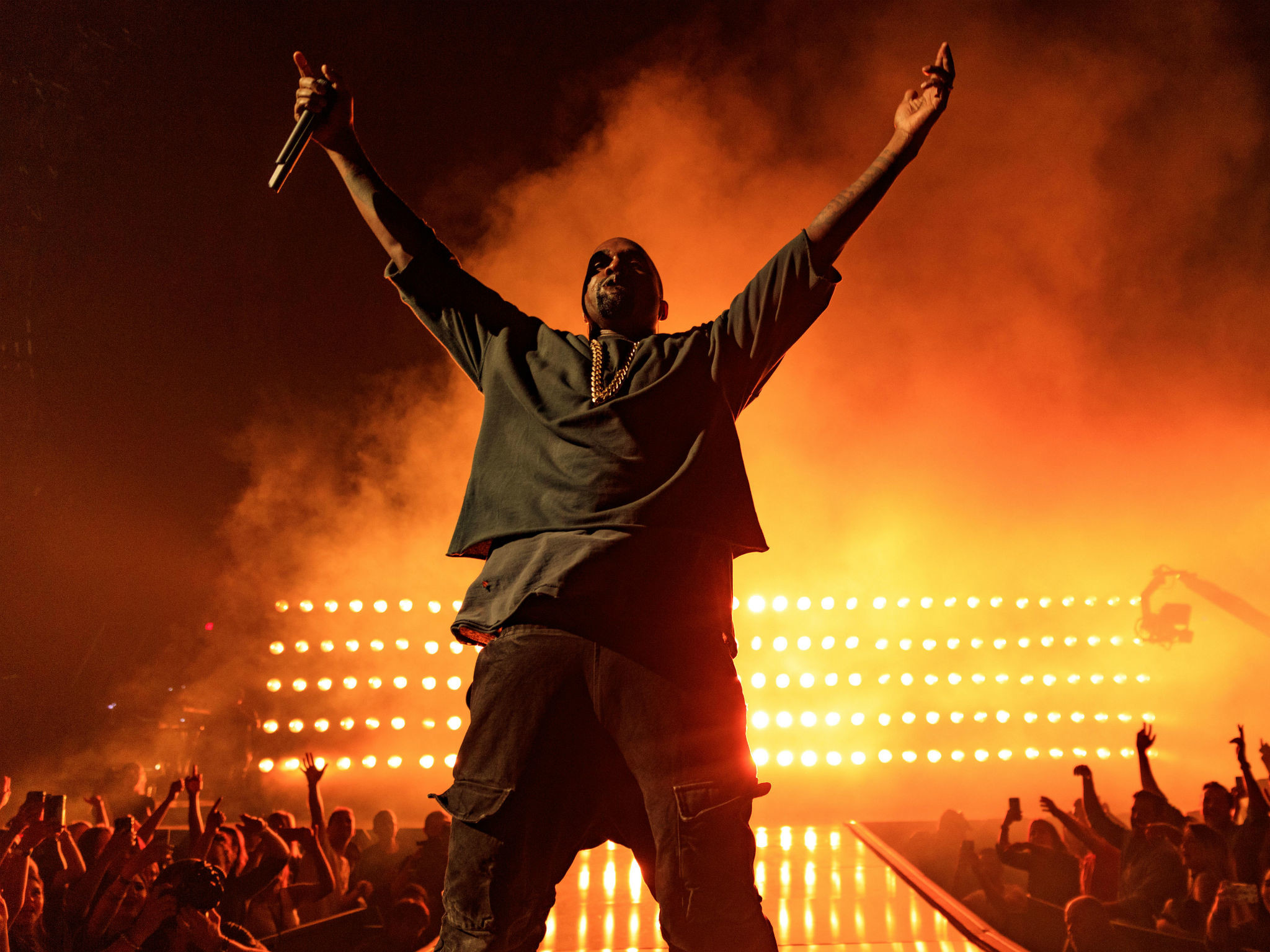 Kanye West: 5 of the rapper's most controversial performances | The  Independent