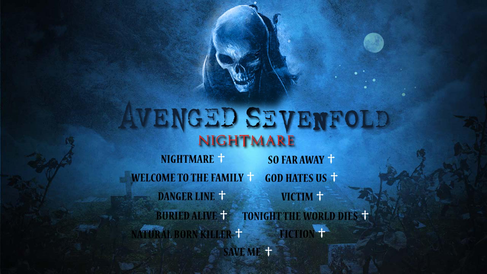 … free avenged sevenfold nightmare wallpaper full hd as wallpaper hd …