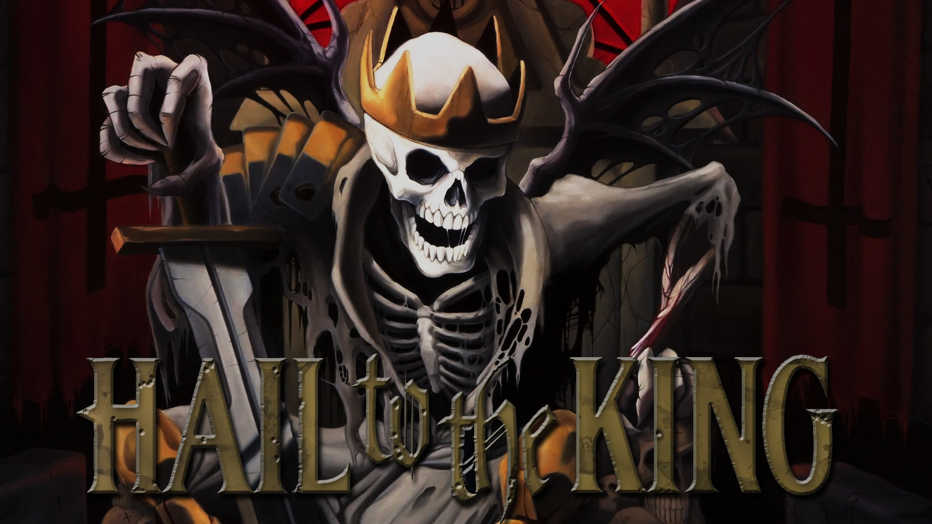 Hail to the King: Deathbat A7X Wallpaper HD Wallpaper with .