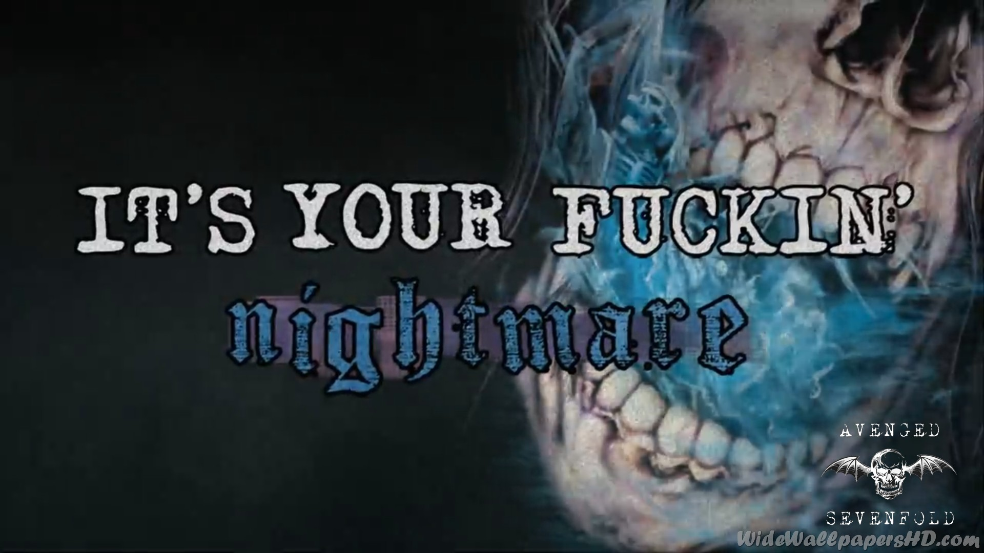 Avenged Sevenfold Nightmare Wallpapers High Resolution As Wallpaper HD