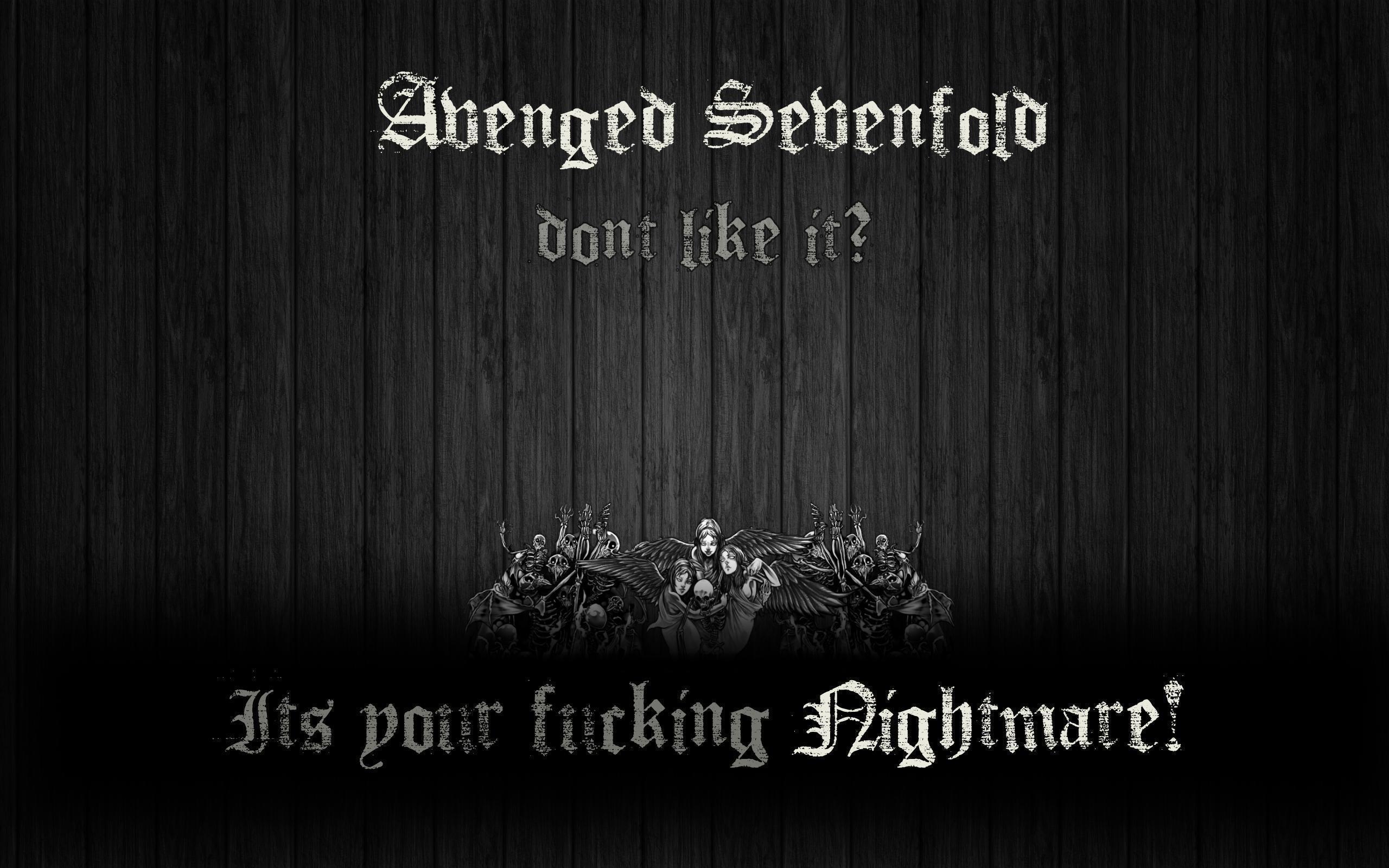 Avenged Sevenfold Wallpaper by ScientiaMucho on DeviantArt