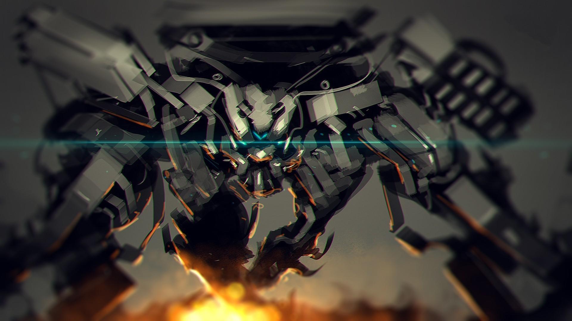 artwork, Fantasy Art, Concept Art, Mech, Robot, War Wallpapers HD / Desktop  and Mobile Backgrounds