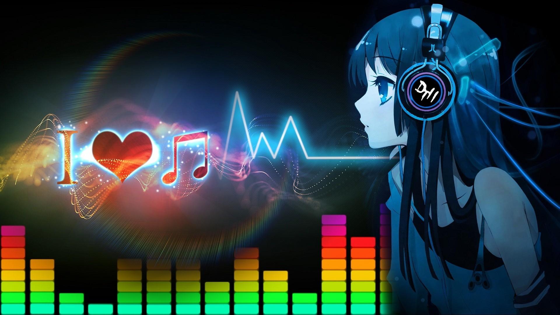 0 Cute Anime Girls Listening Music Wallpaper HD For Desktop Cute Anime  Wallpapers Widescreen For Iphone Dark Scenery Cute .