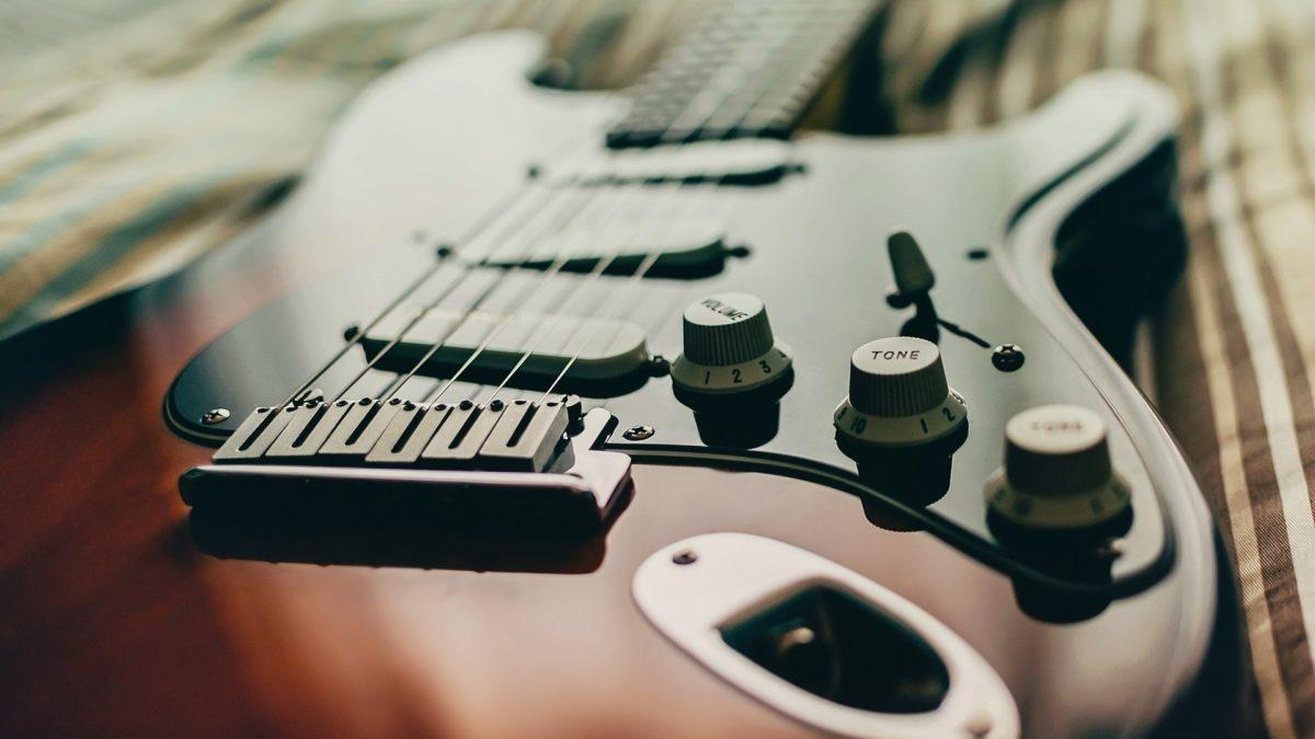 Preview wallpaper guitar, music, strings, bass guitar, electric guitar  1920×1080