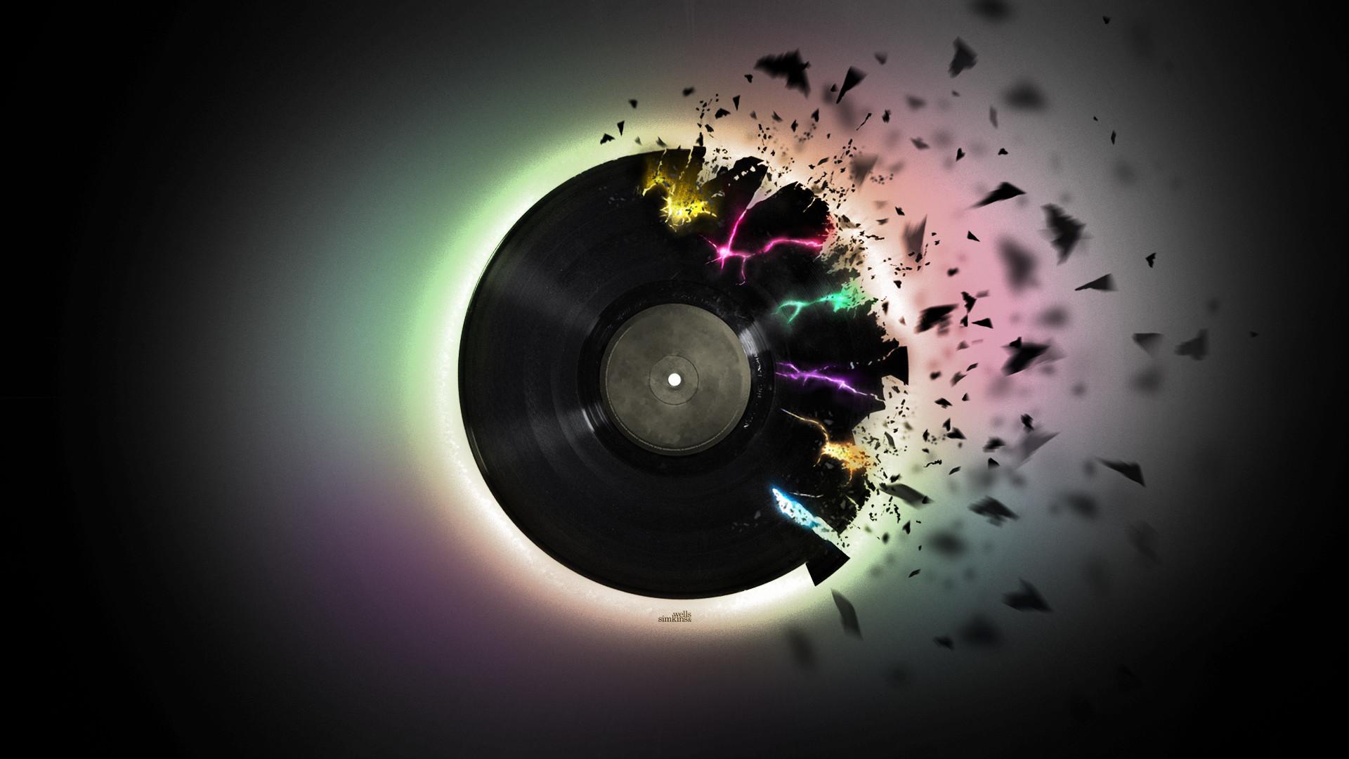 Record HD Wallpaper, Music Design Record Wallpapers for Desktop, Music .