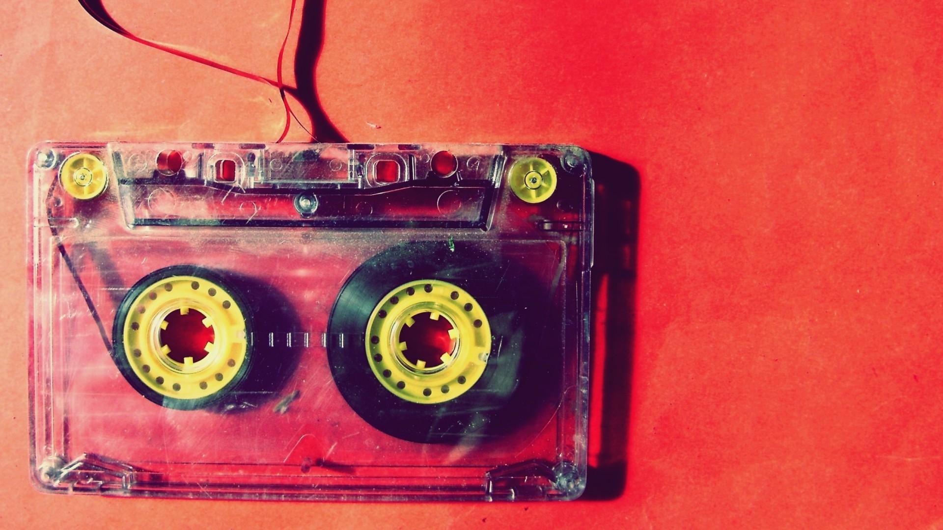 cassette, music, vintage