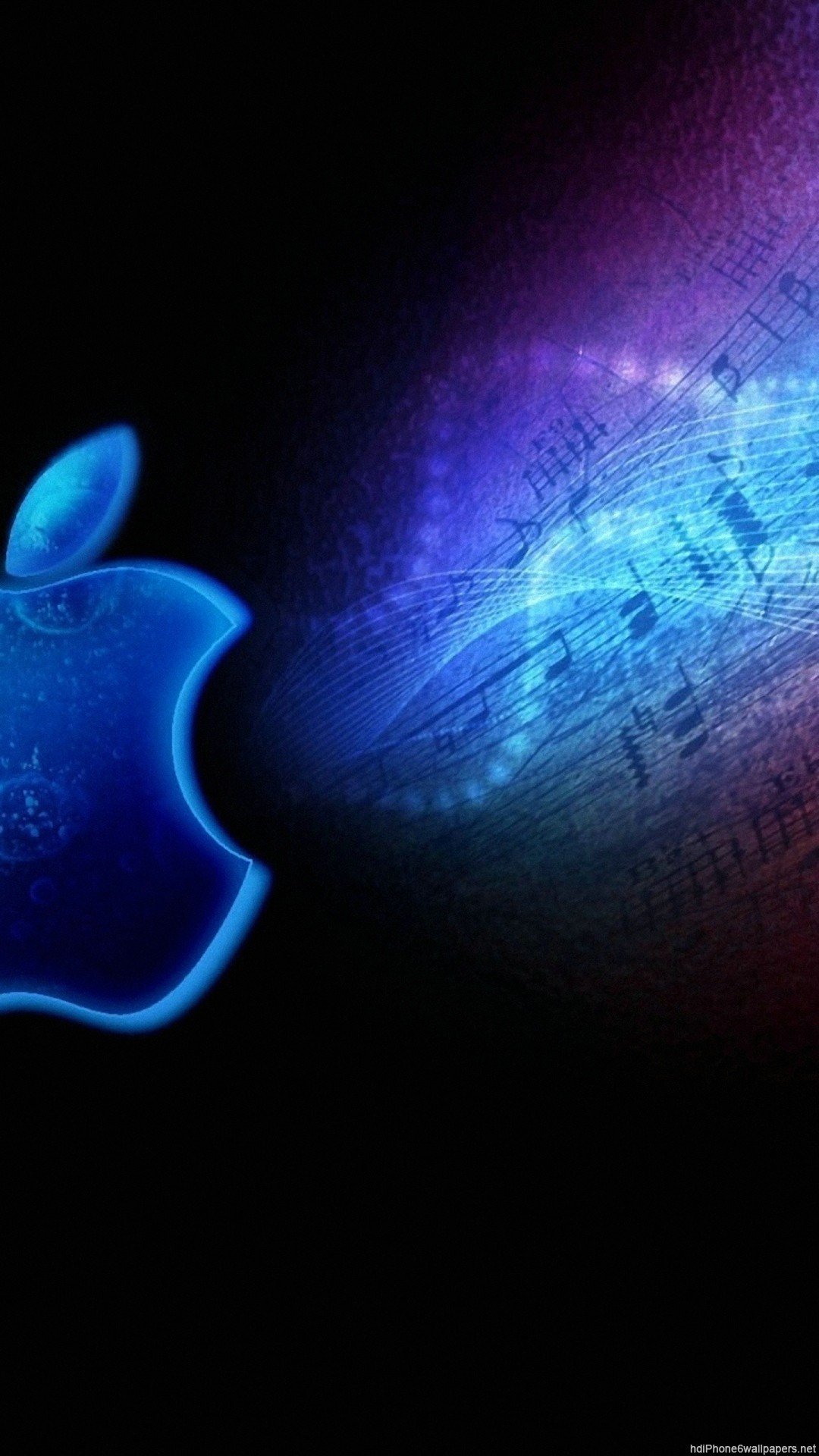 apple light music bright iPhone 6 wallpapers HD – 6 Plus  backgrounds