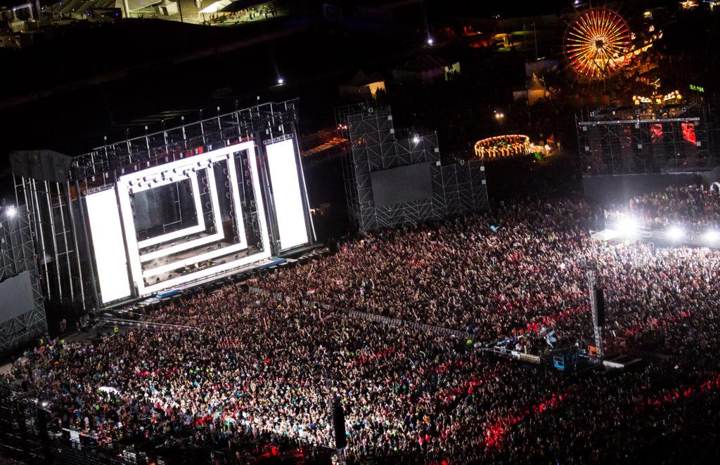 EDM stage design – edc vegas 2012 erick kabik