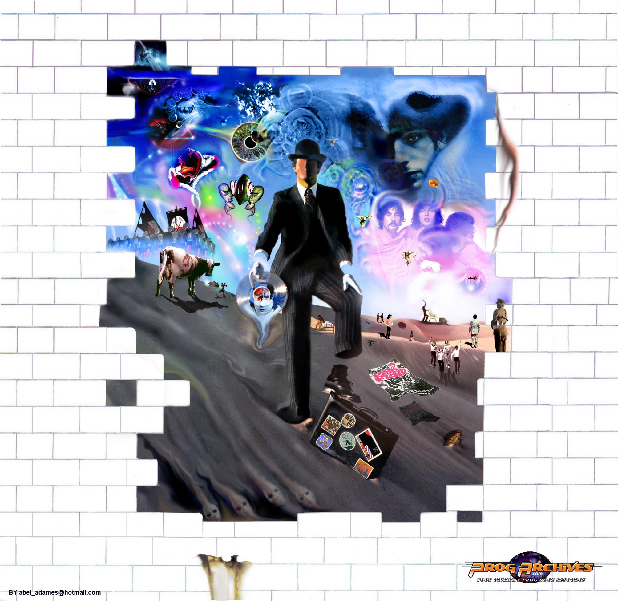 PINK FLOYD Collage by member (darksideof) | Download wallpaper