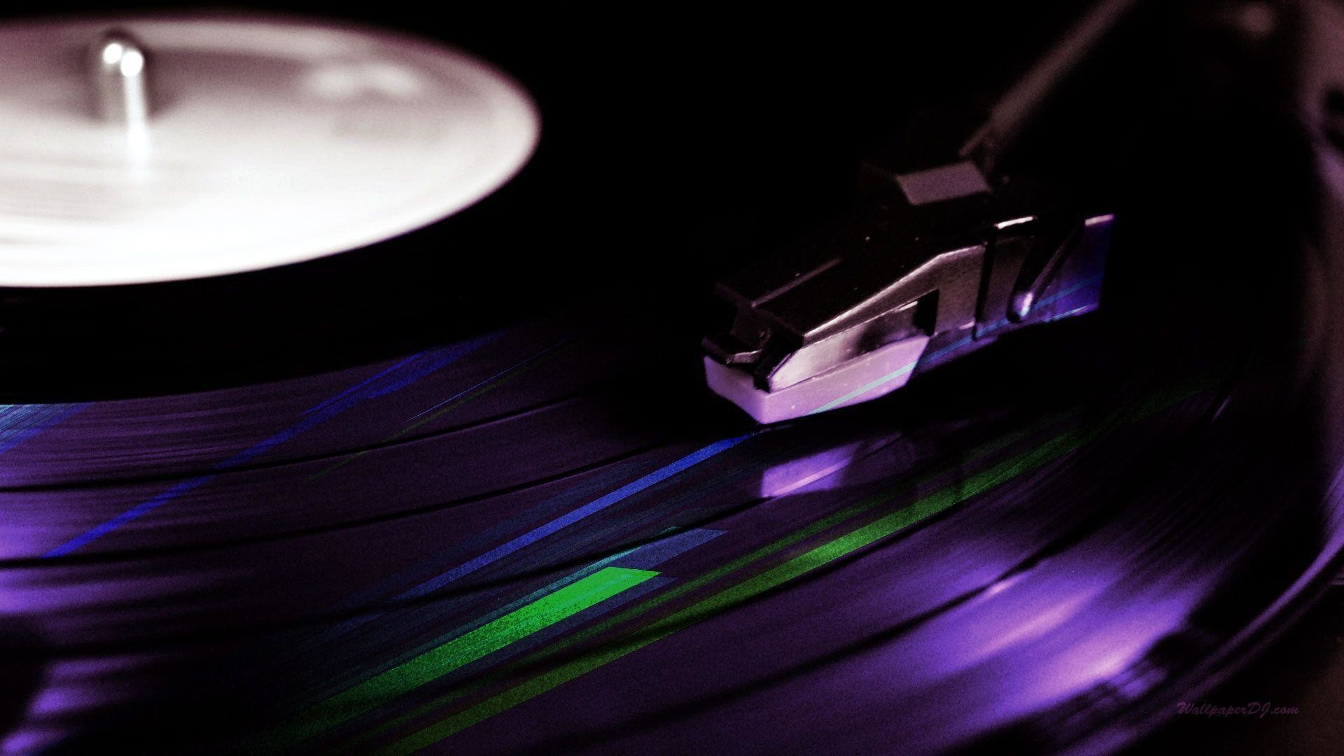 Wallpapers For > Dj Turntable Wallpaper