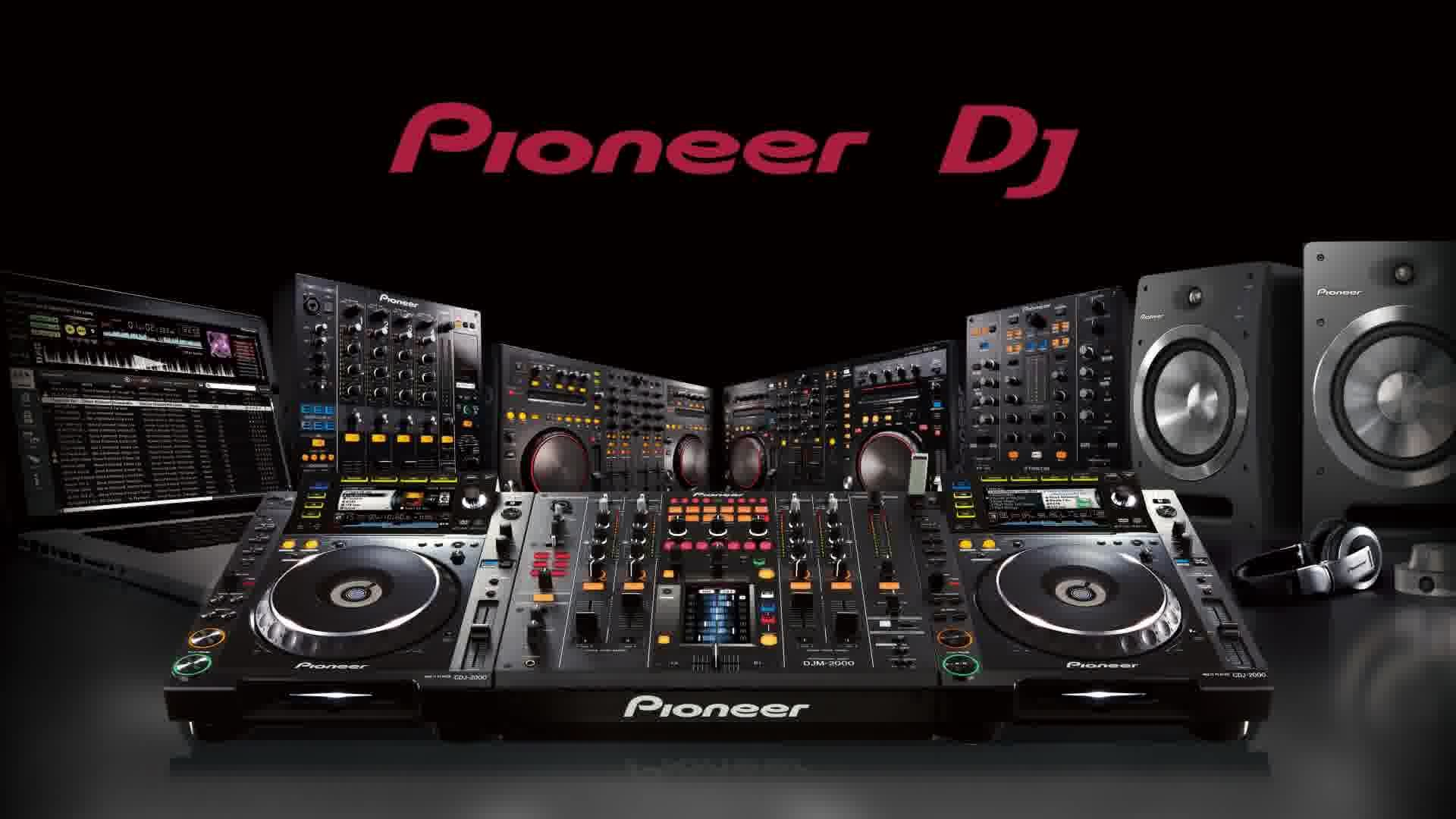 Wallpapers For > Pioneer Dj Mixer Wallpaper
