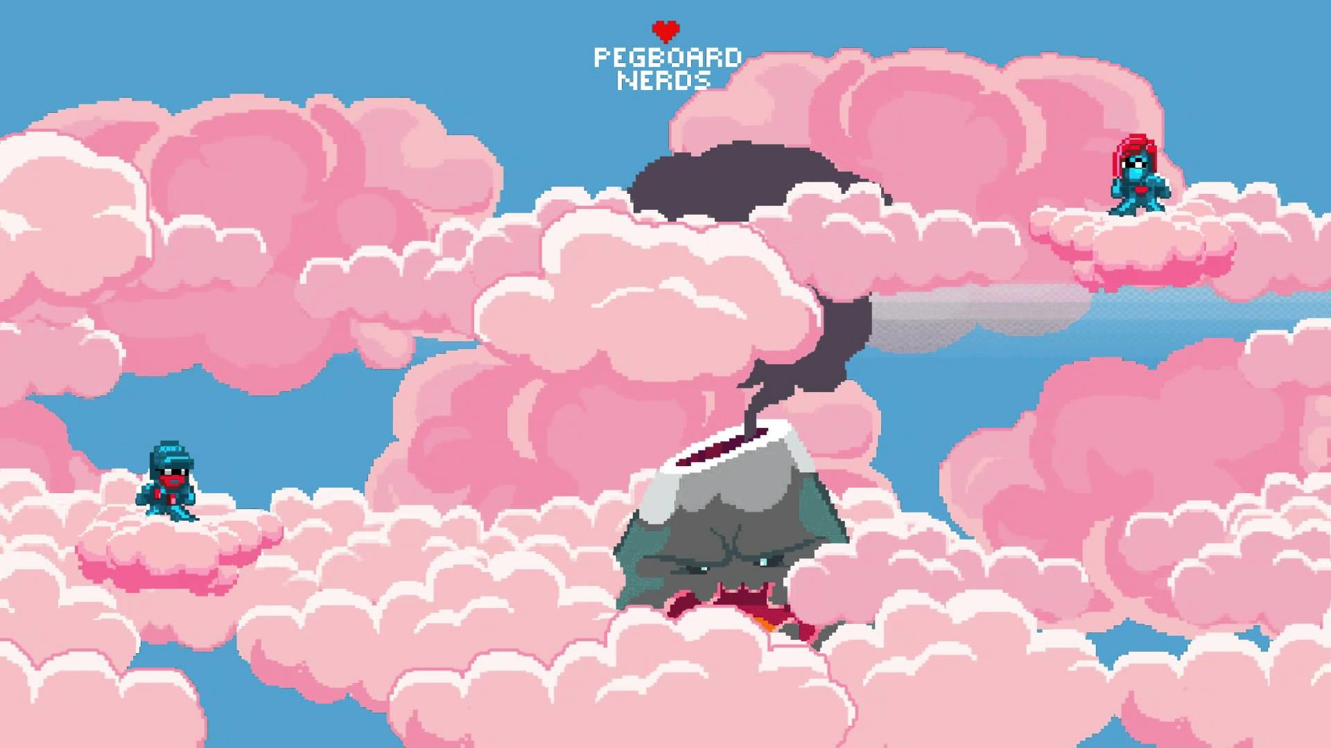 pink cloud pegboard nerds – Google Search