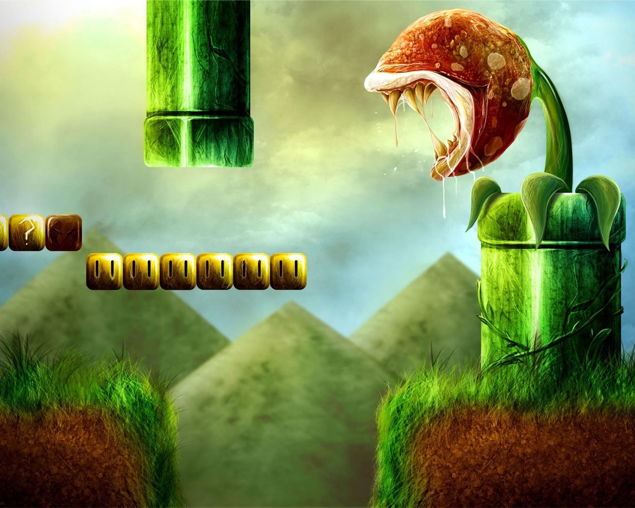 Mario Desktop Background