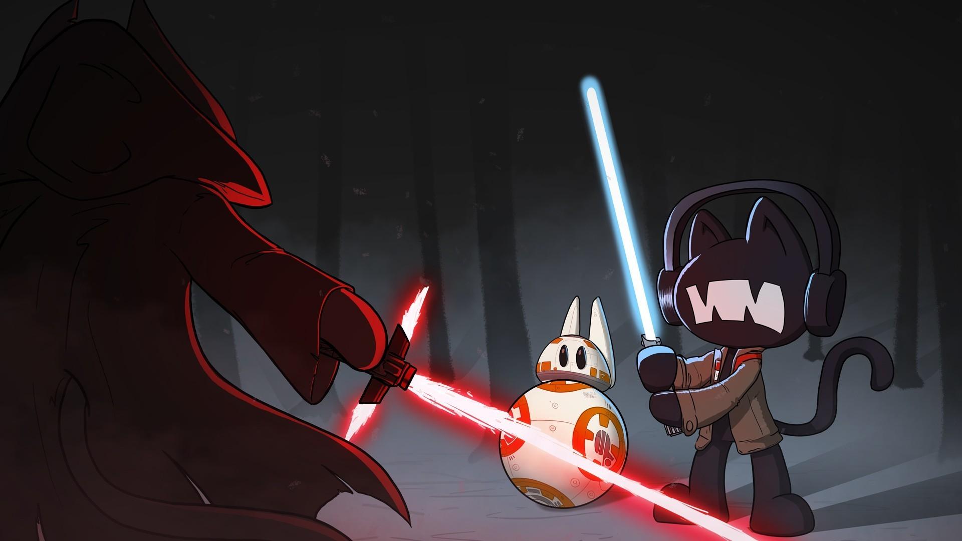monstercat star wars the force awakens lightsaber. monstercat pegboard  nerds Wallpaper HD