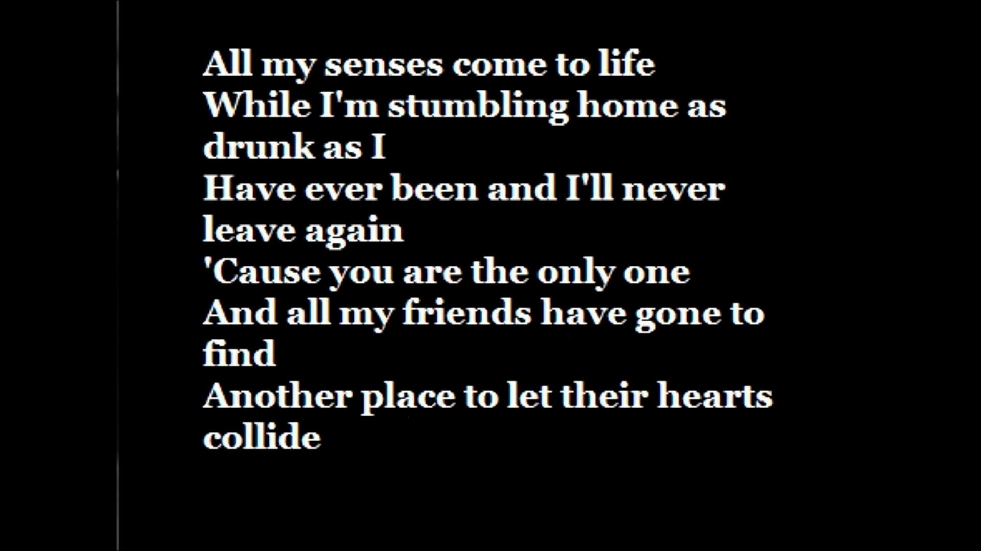 Ed Sheeran-One Lyrics