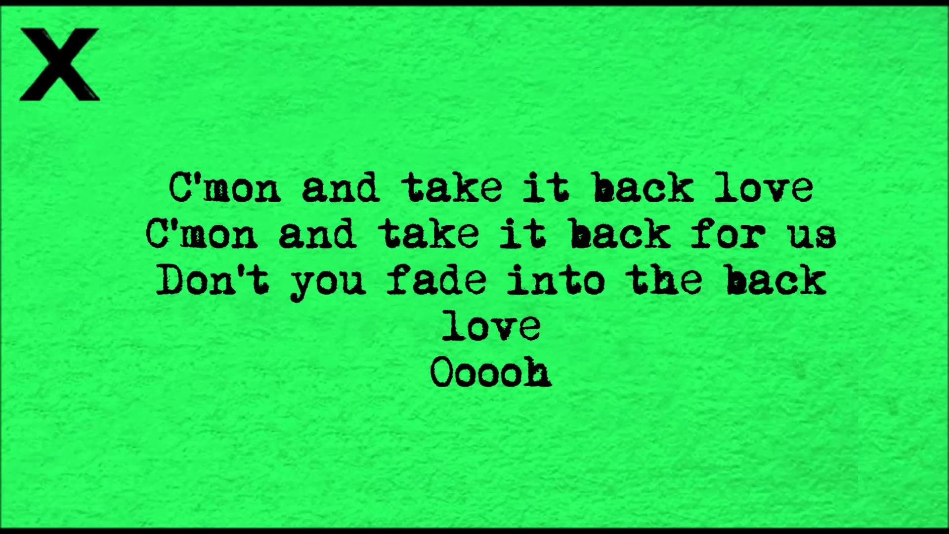 Ed Sheeran – Take it back (Lyrics on screen) HD. Going to learn this whole  song. | music | Pinterest | Songs