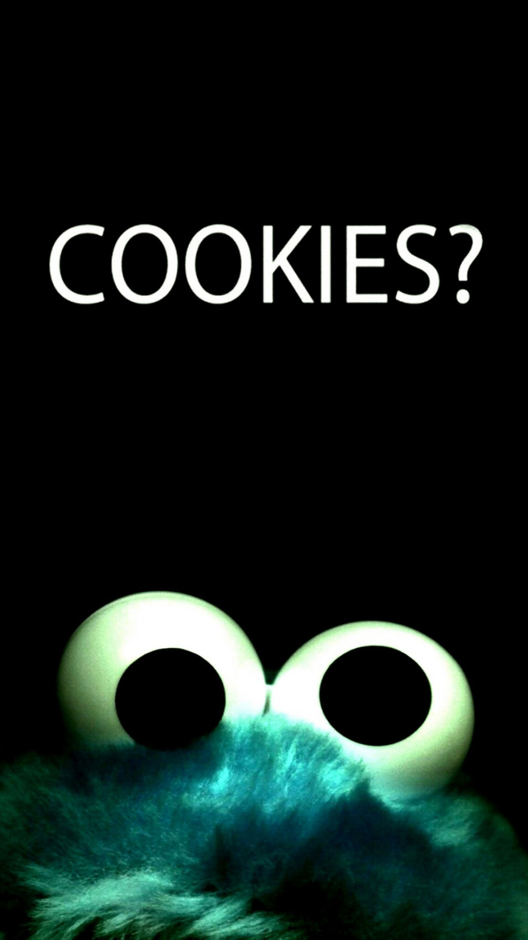 Cookies Cookie Monster iPhone 6 Plus HD Wallpaper / iPod Wallpaper