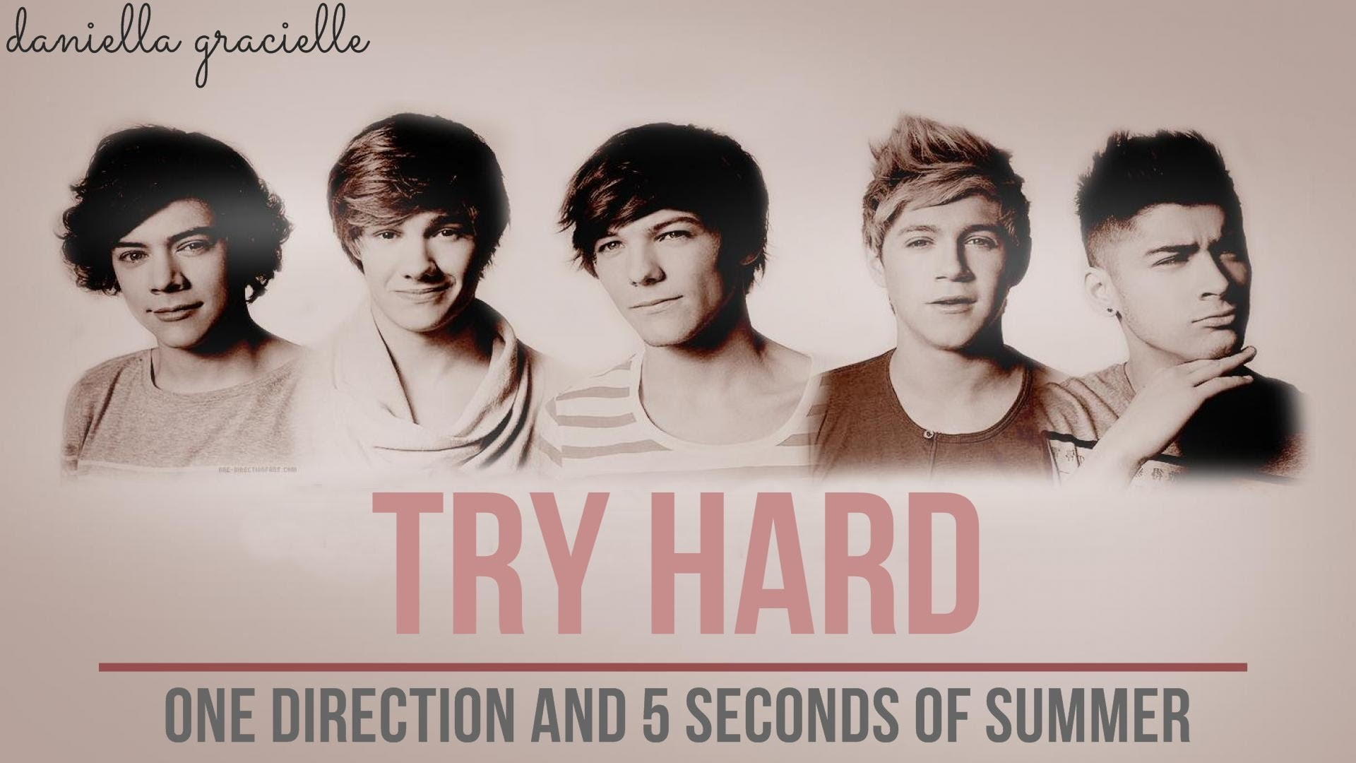 Try Hard // One Direction and 5SOS [Wattpad Trailer]