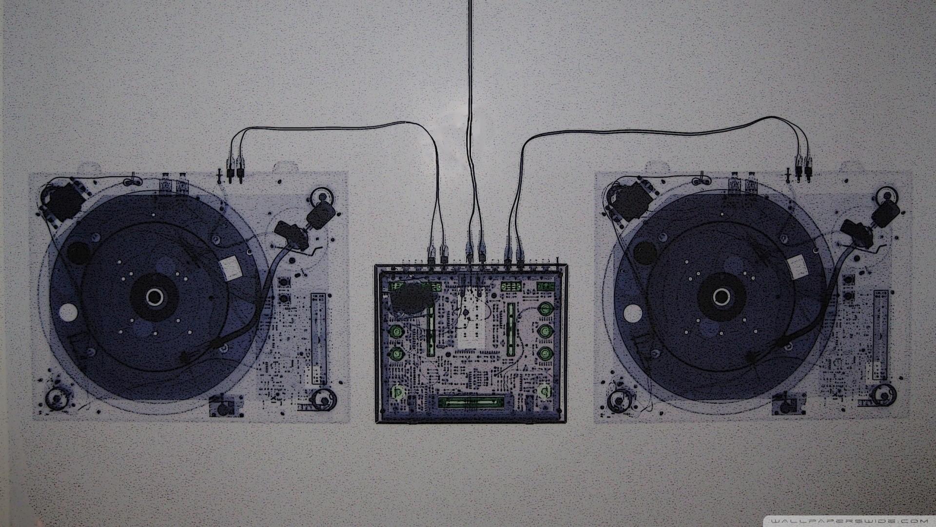 … translucent dj console mixer hd desktop wallpaper high …