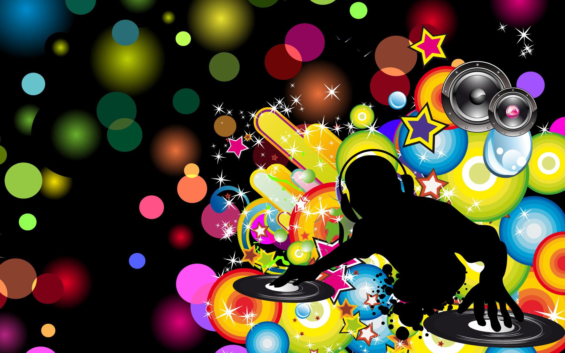 Dance abstract cool dj wallpapers.