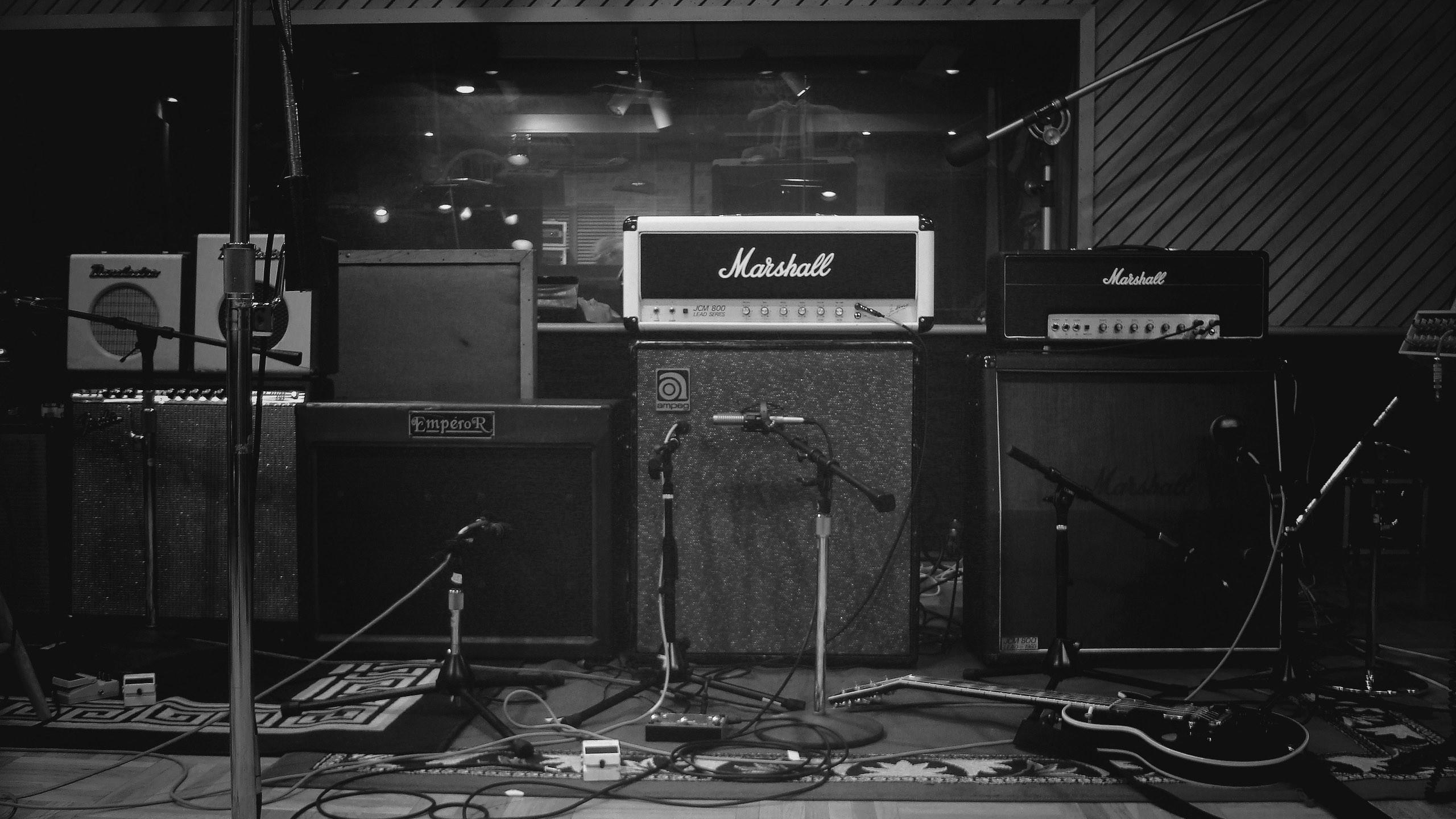 old speakers + amp