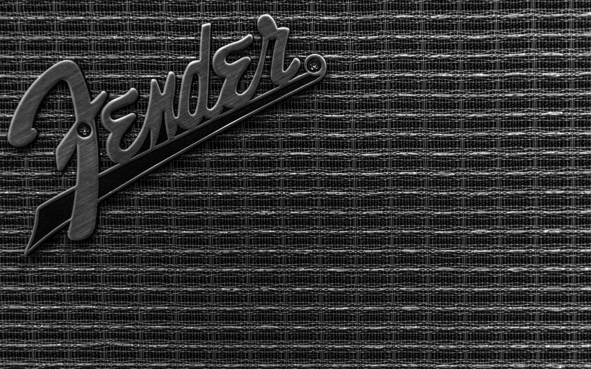 Fender guitar amp close-up [1920×1200]