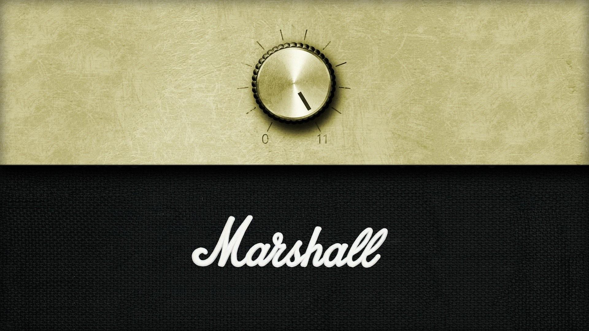 Minimalistic music sound marshall amplifiers volume wallpaper | |  288447 | WallpaperUP