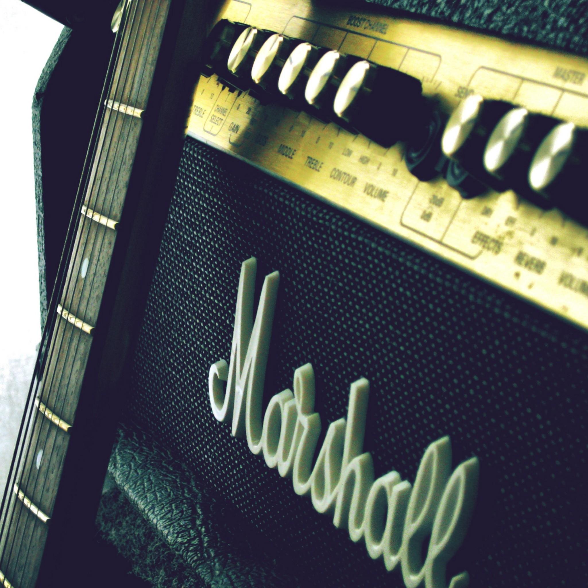 Wallpaper marshall, amp, guitar