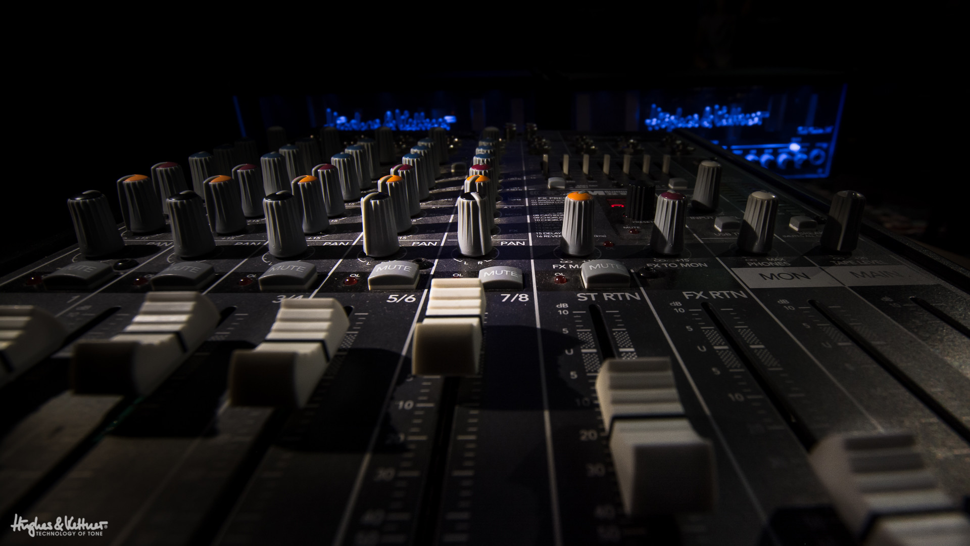We've come a long way since the swinging 60s. A mixing console like