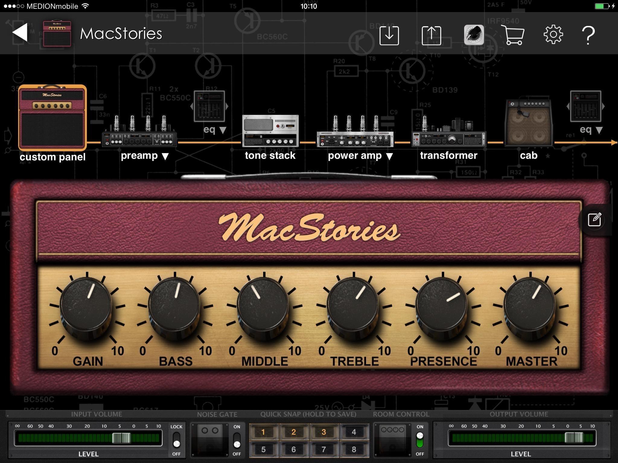 BIAS custom amps