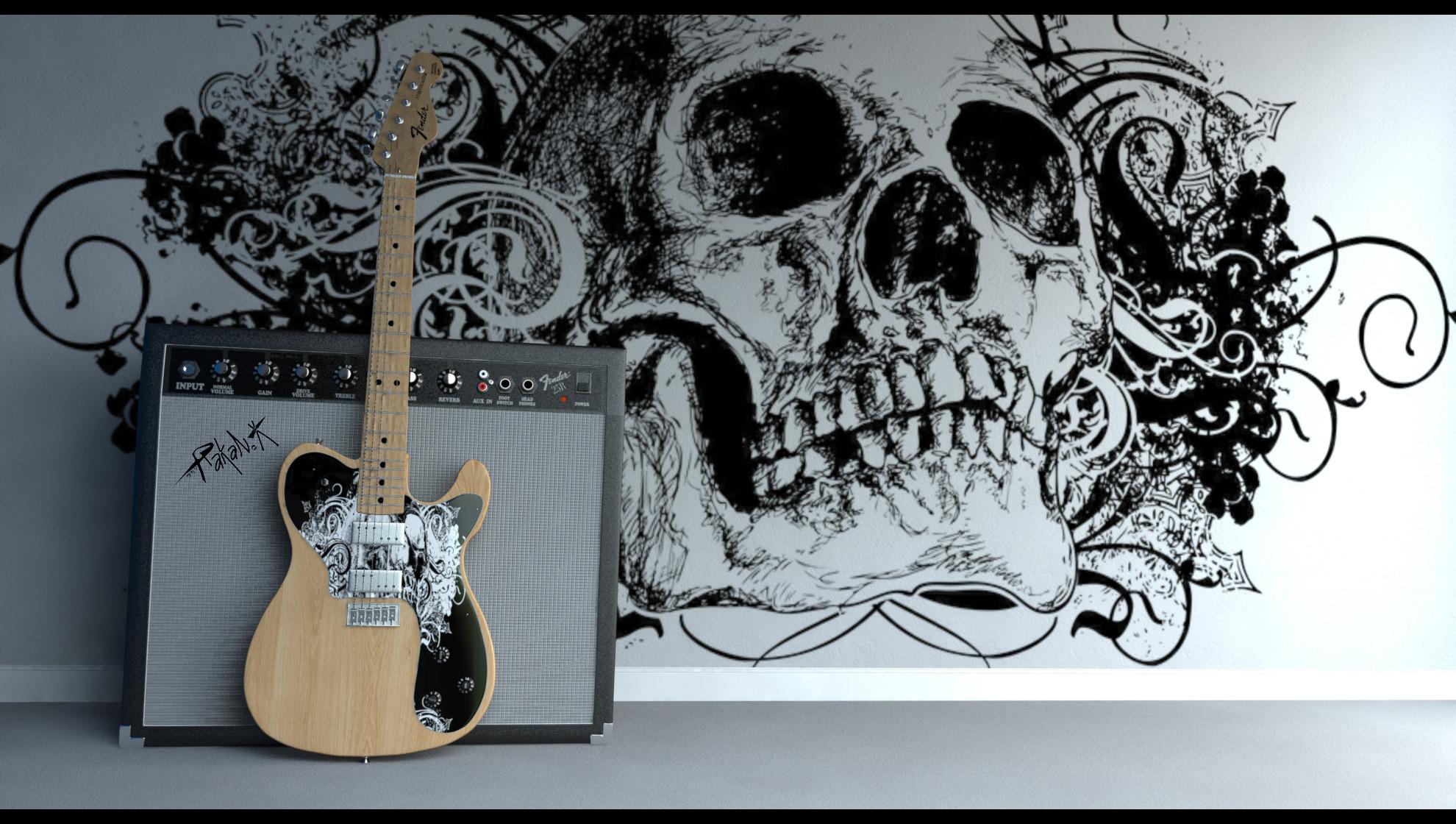 … Fender Guitar + AMP by djreko