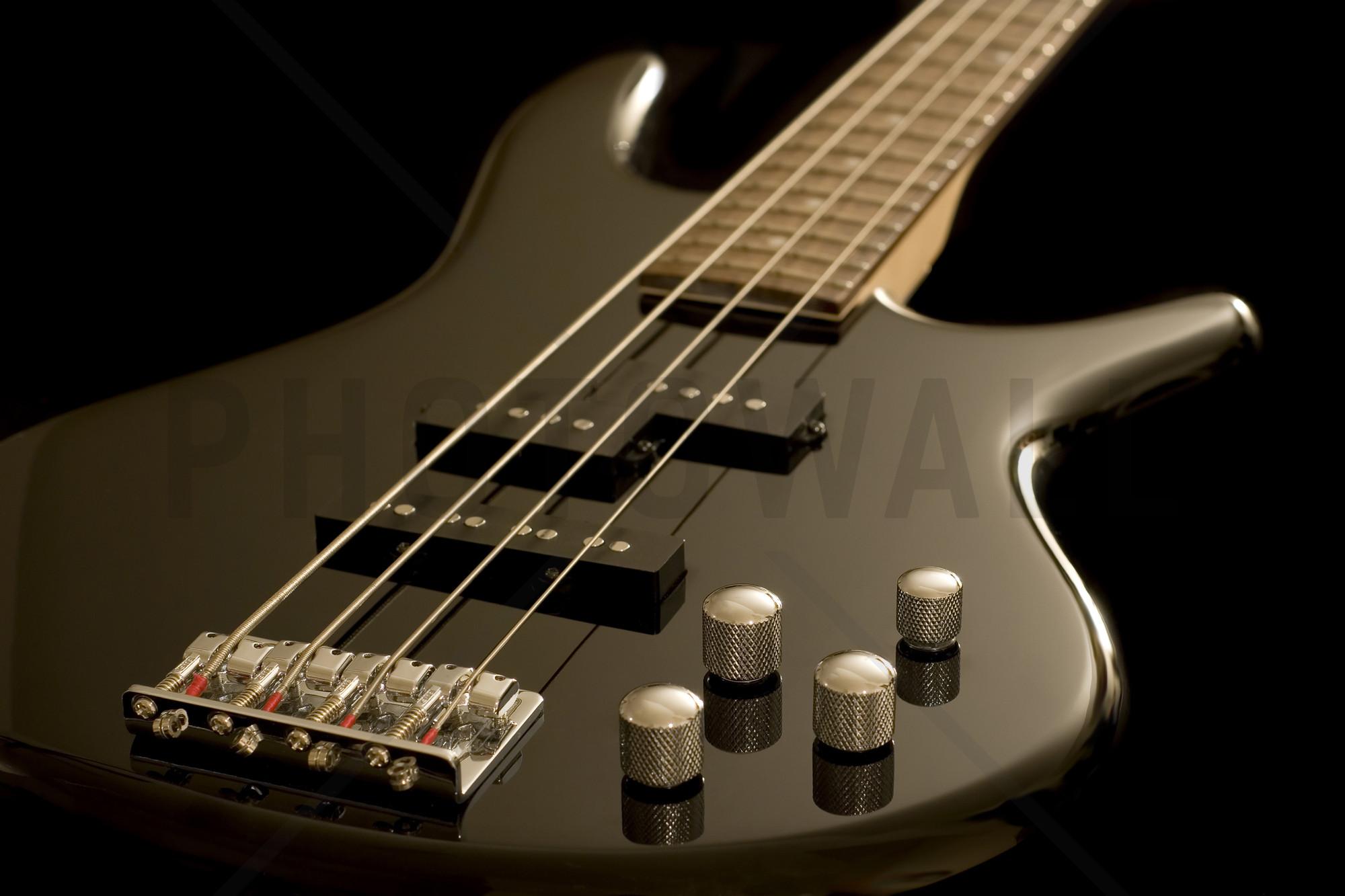 … Electric Bass Guitar | Wall Mural amp Photo Wallpaper | Photowall