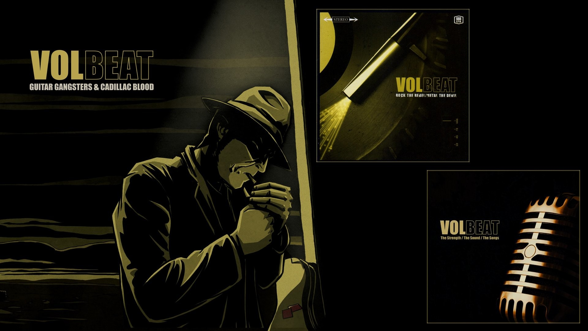 Volbeat Guitar Gangsters Amp Cadillac Blood 487228
