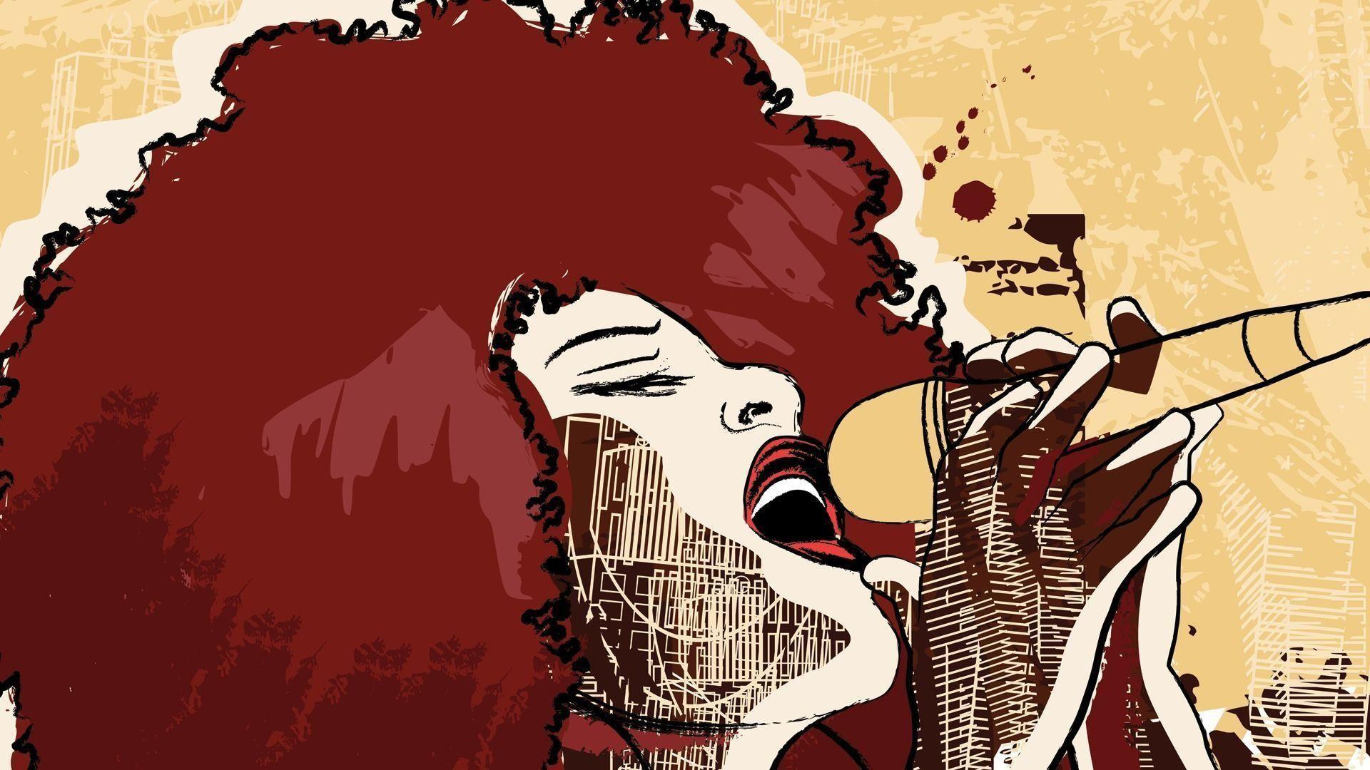 Jazz Singer Music Wallpaper Pc #13418 Wallpaper | Wallpaper Screen .