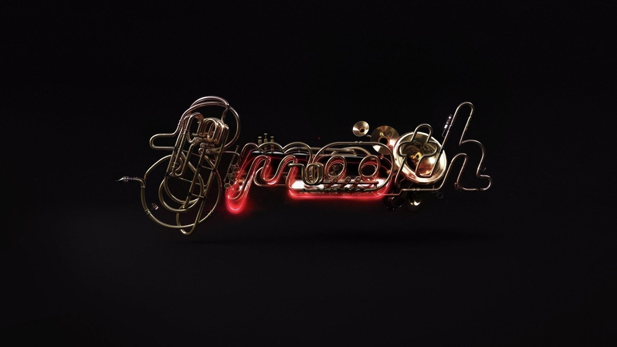 smooth jazz render musical instruments digital art