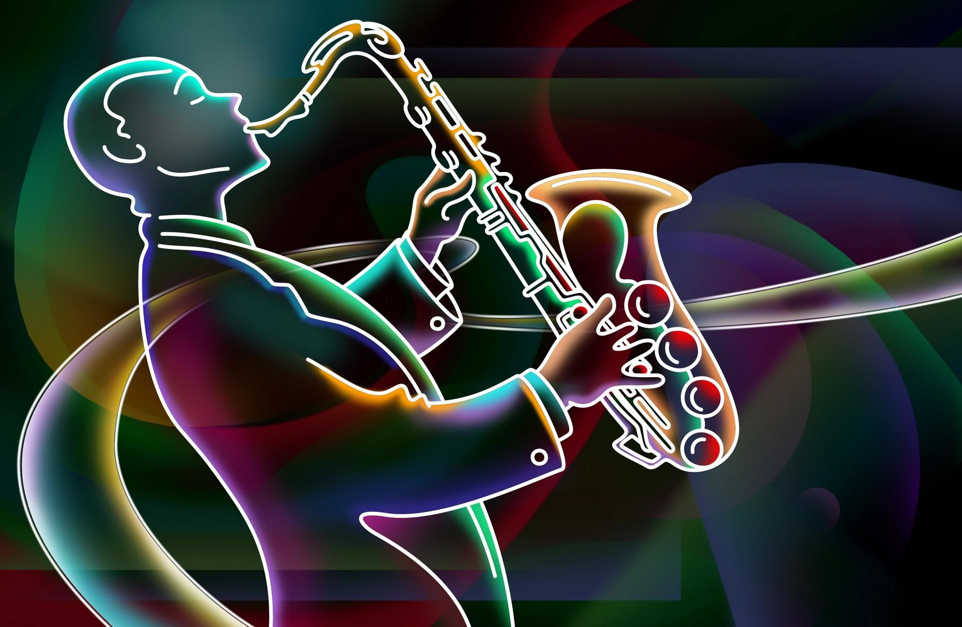 Saxophone wallpaper thumb