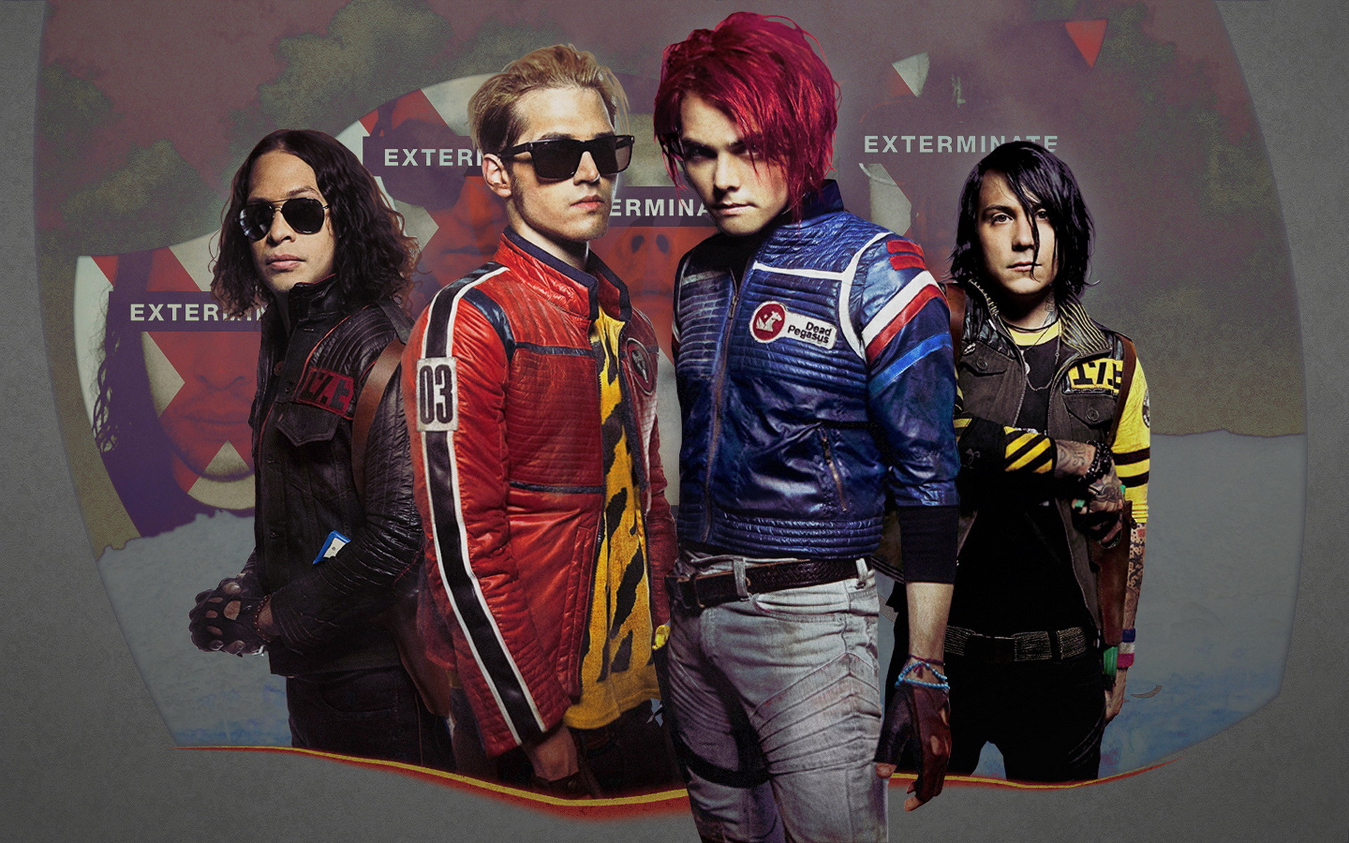 My Chemical Romance Wallpapers 1024×768 My Chemical Romance Wallpaper (43  Wallpapers) | Adorable Wallpapers | Desktop | Pinterest | Romance, 3d  wallpaper …
