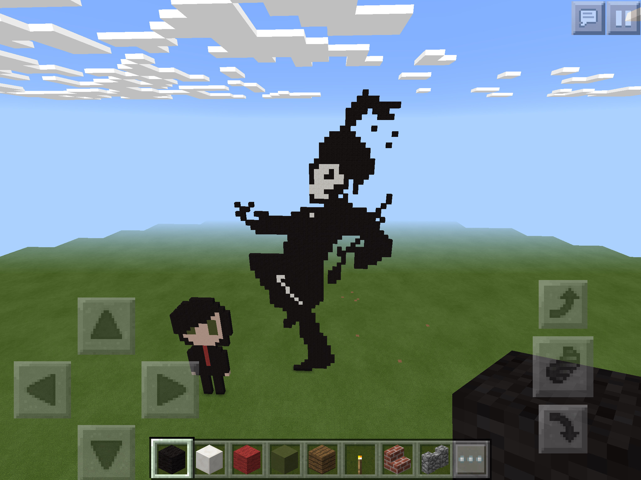 See, the beauty of minecraft and mcr.