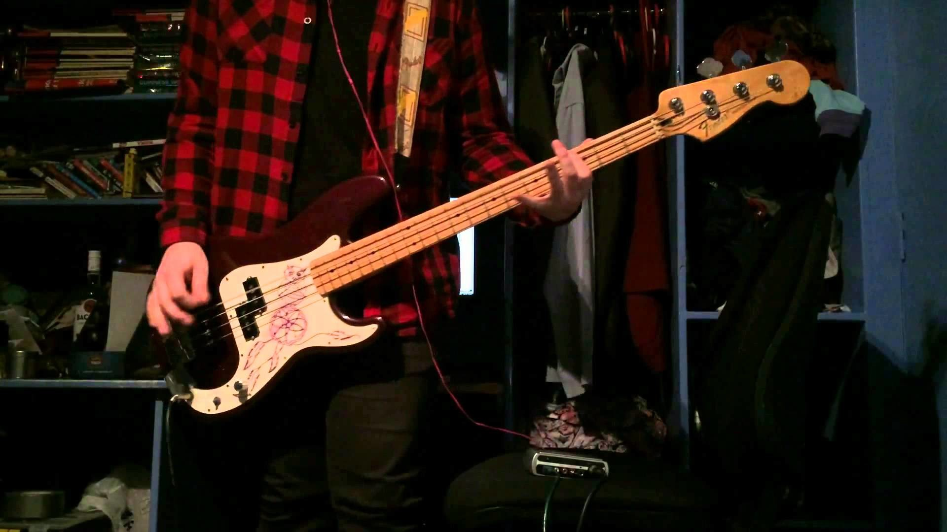 My Chemical Romance – Famous Last Words Bass Cover