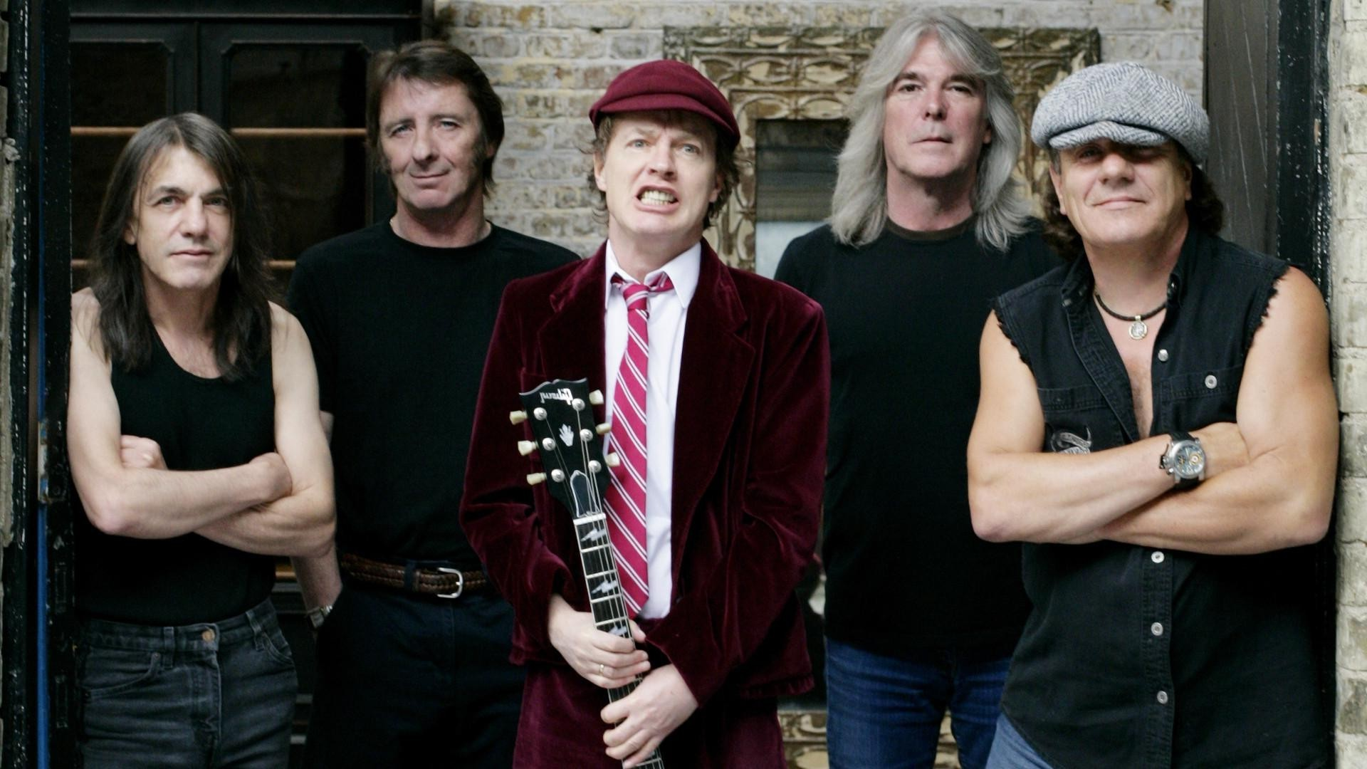 AC DC, Angus Young, Brian Johnson, Malcolm Young, Cliff Williams, Phil Rudd Wallpapers  HD / Desktop and Mobile Backgrounds