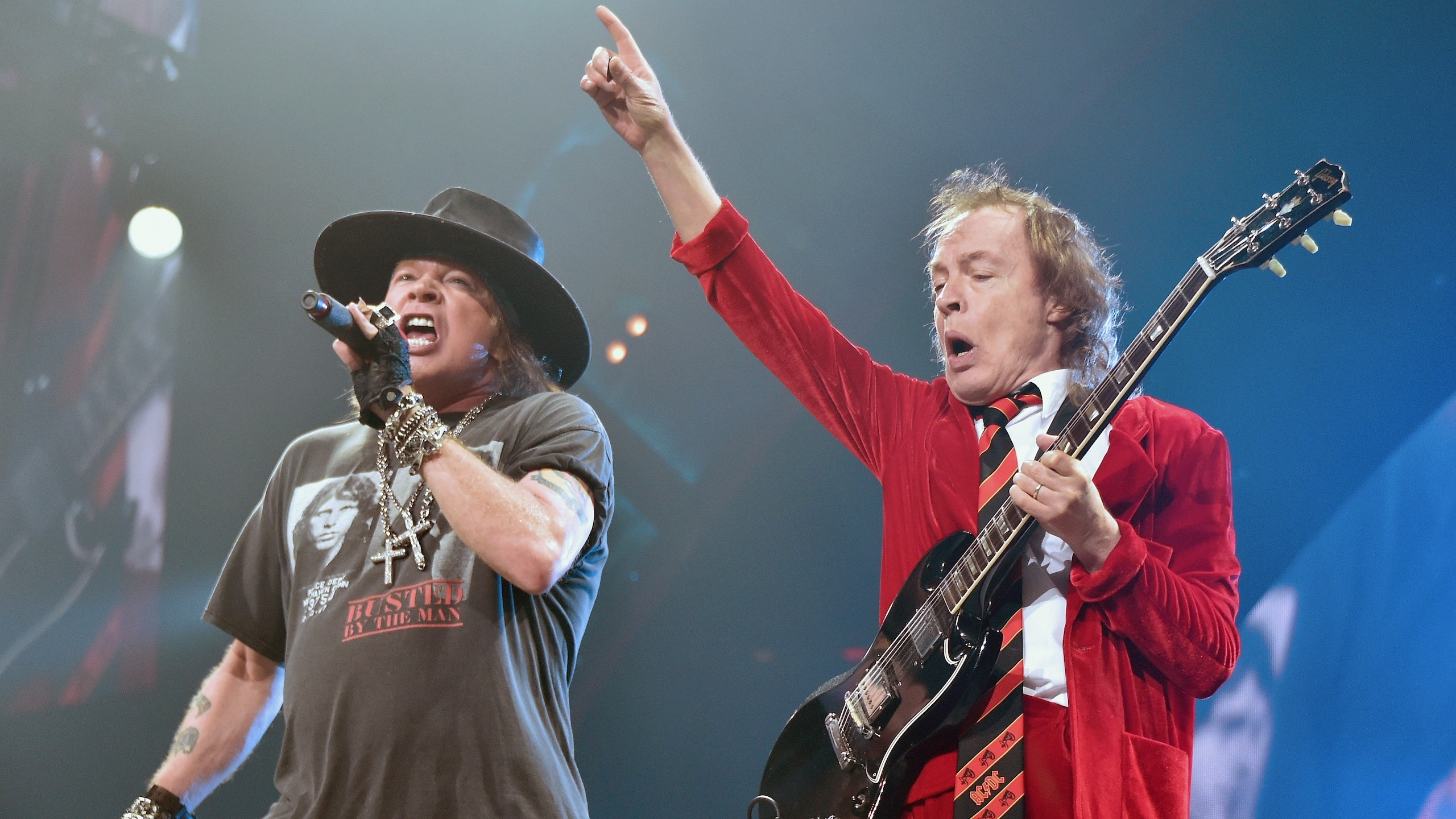 Reports Suggest Axl Rose Is Working On A New AC/DC Album With Angus Young –  Music Feeds