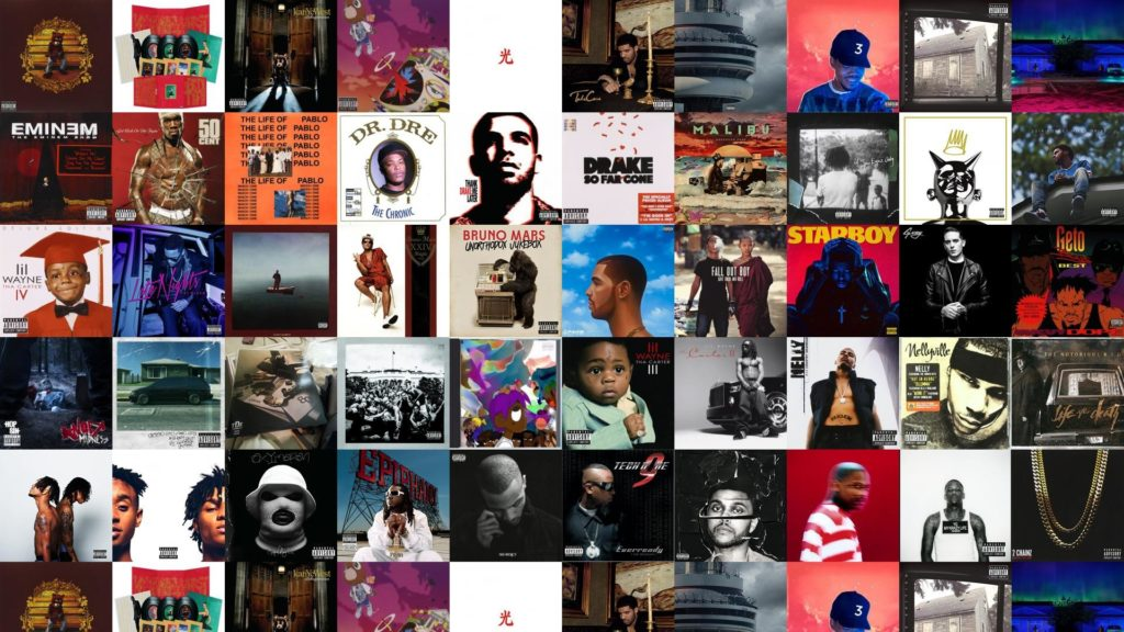 Download this free wallpaper with images of Kanye West – The College  Dropout, Kanye West – My Beautiful Dark Twisted Fantasy, Kanye West – Late  Registration …