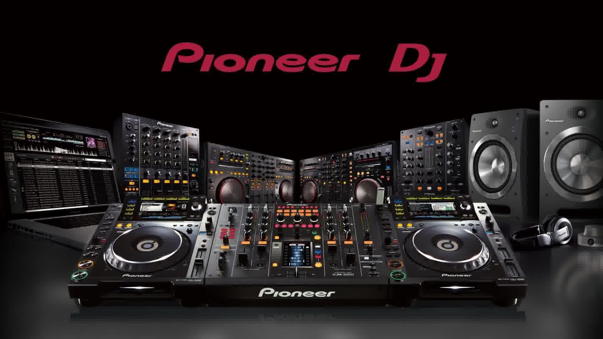 Wallpapers For > Pioneer Dj Mixer Wallpaper