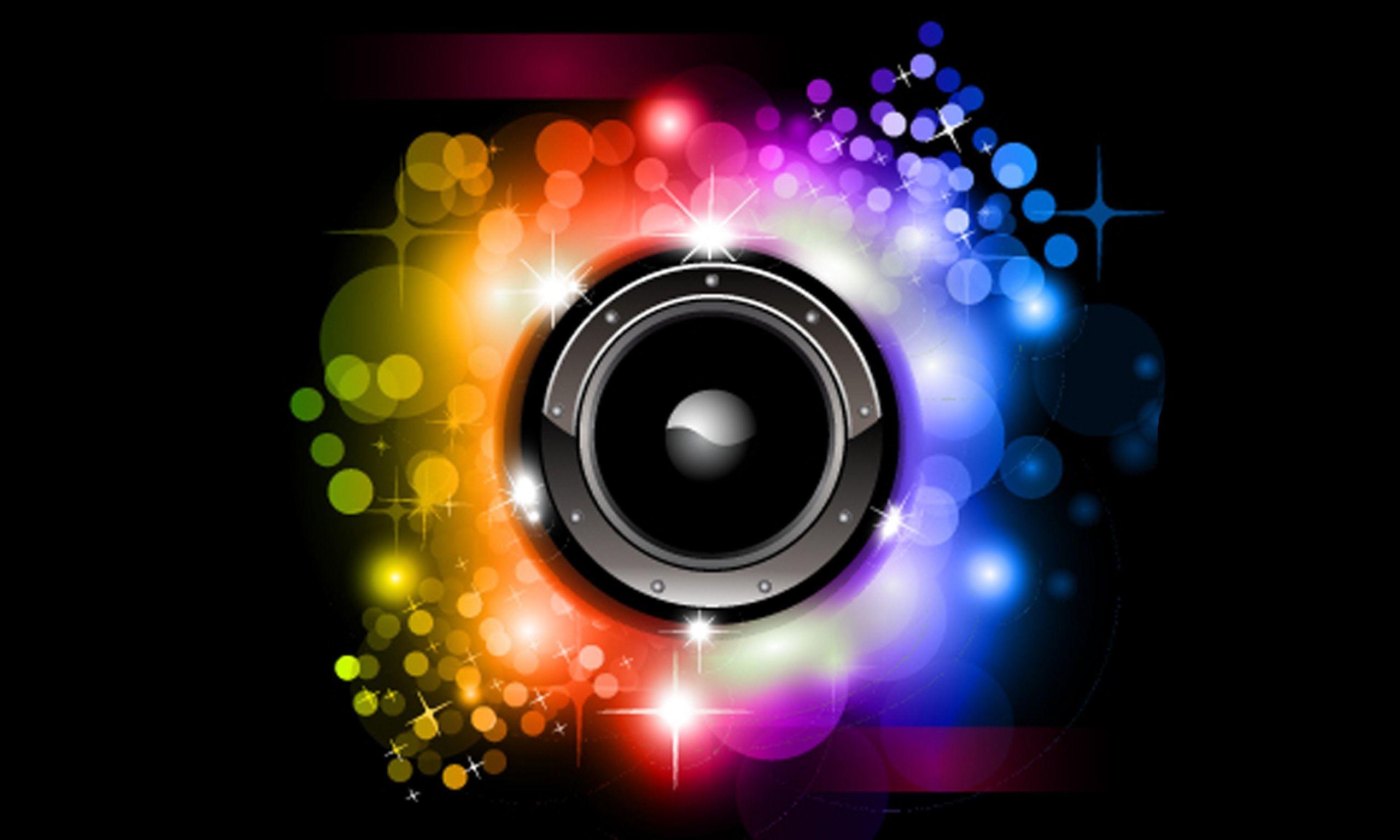 Neon Music Wallpaper Full HD #421l >