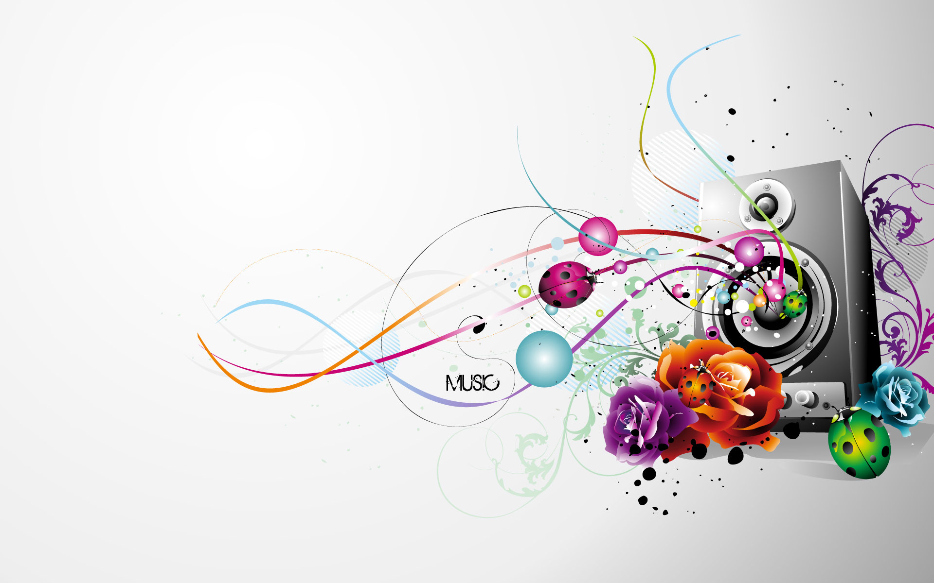 Music Abstract Wallpaper – Wallpaper, High Definition, High Quality .