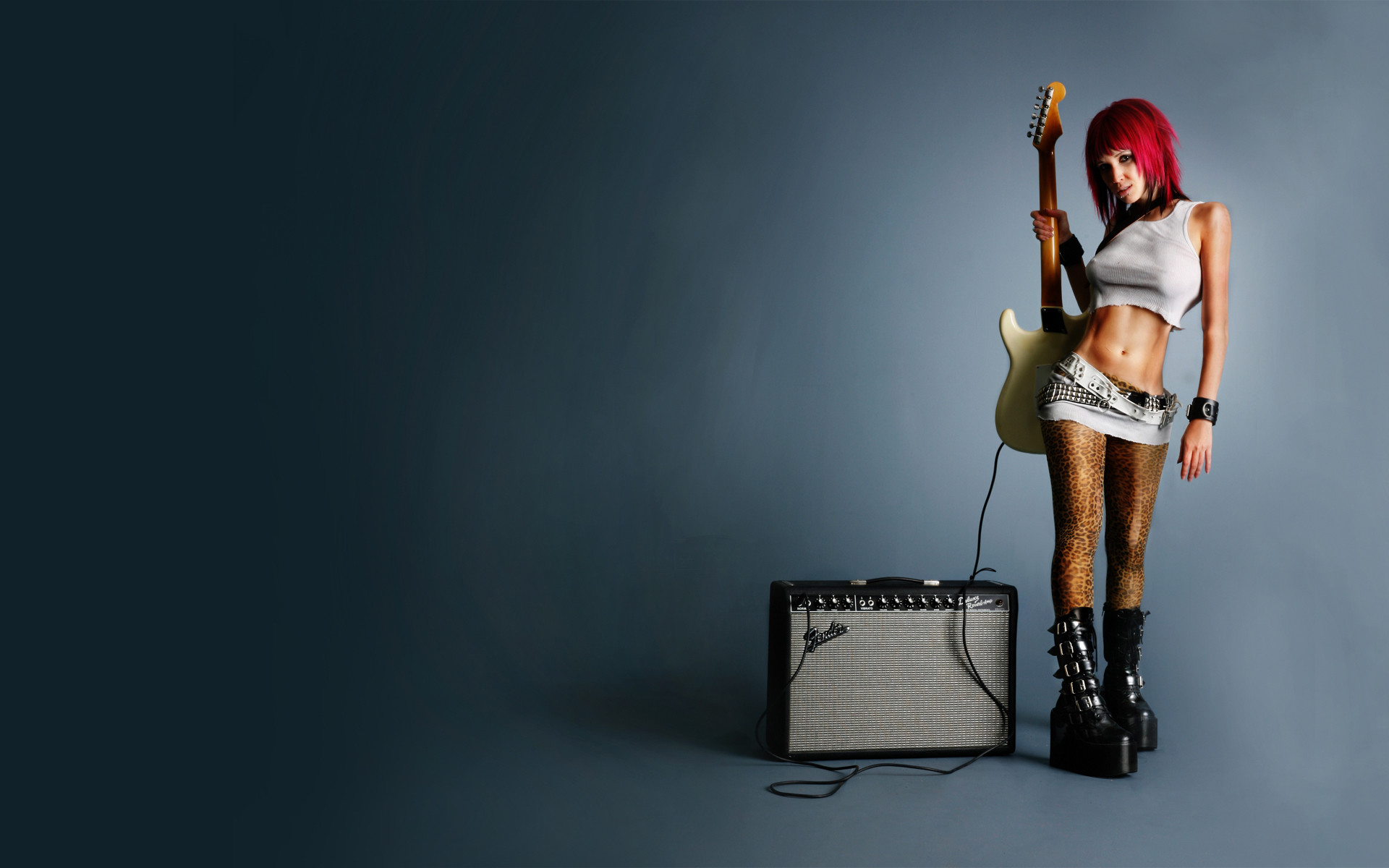 This is the extra cool sexy legs guitar music Wallpaper, Background,  Picture and Layout